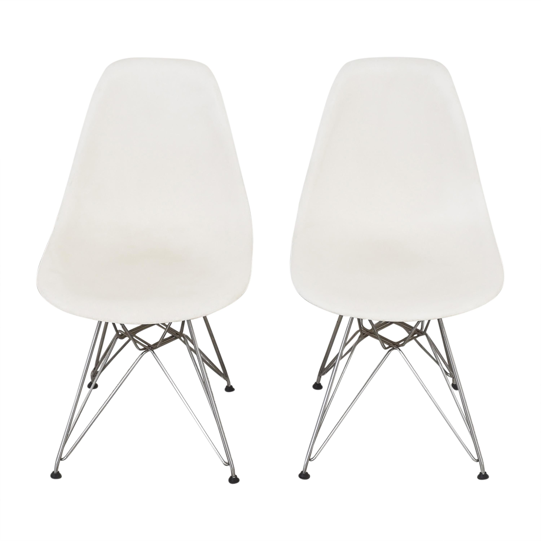 shop Herman Miller Eames Molded Side Chairs Herman Miller