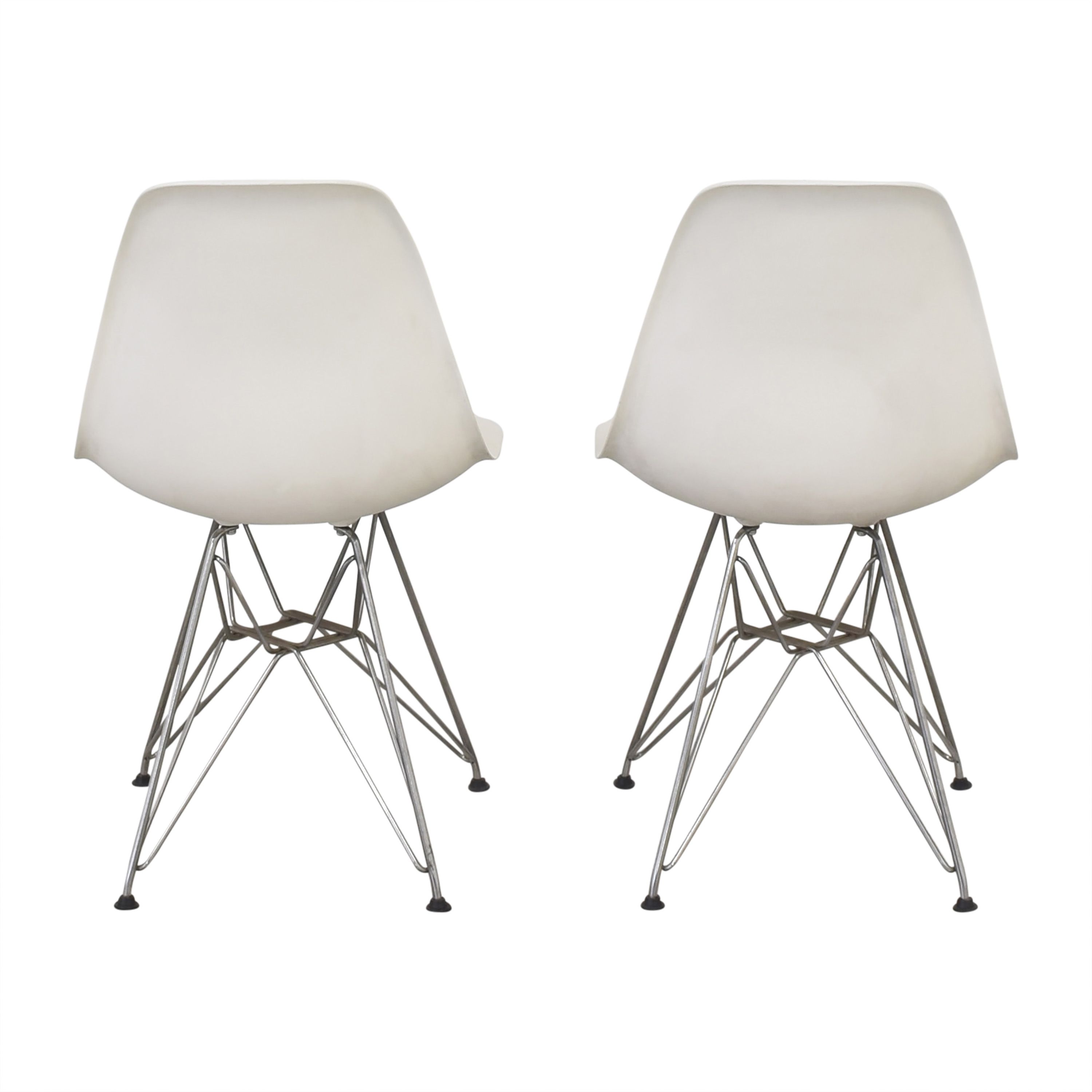 shop Herman Miller Eames Molded Side Chairs Herman Miller Home Office Chairs