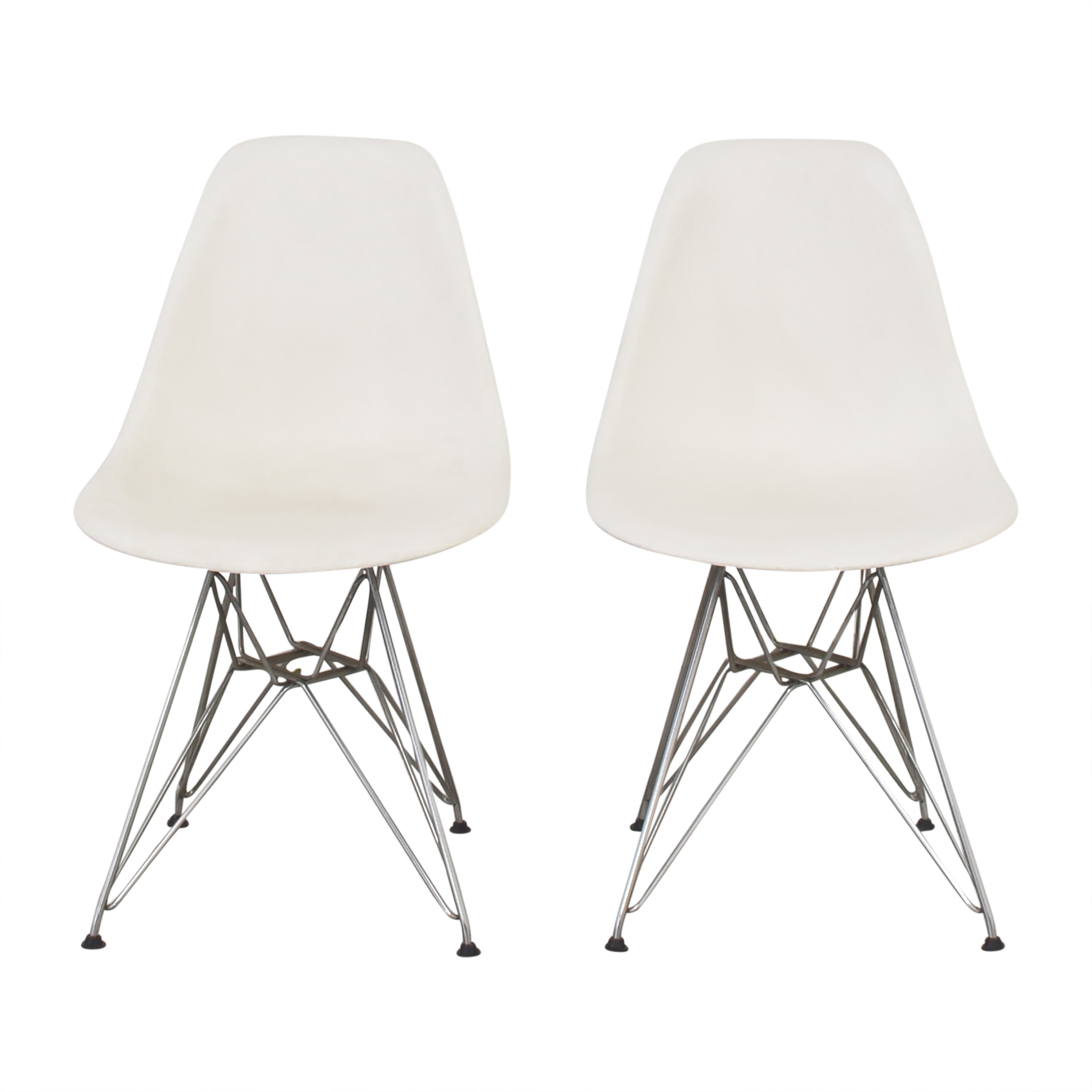 Herman Miller Eames Molded Side Chairs sale