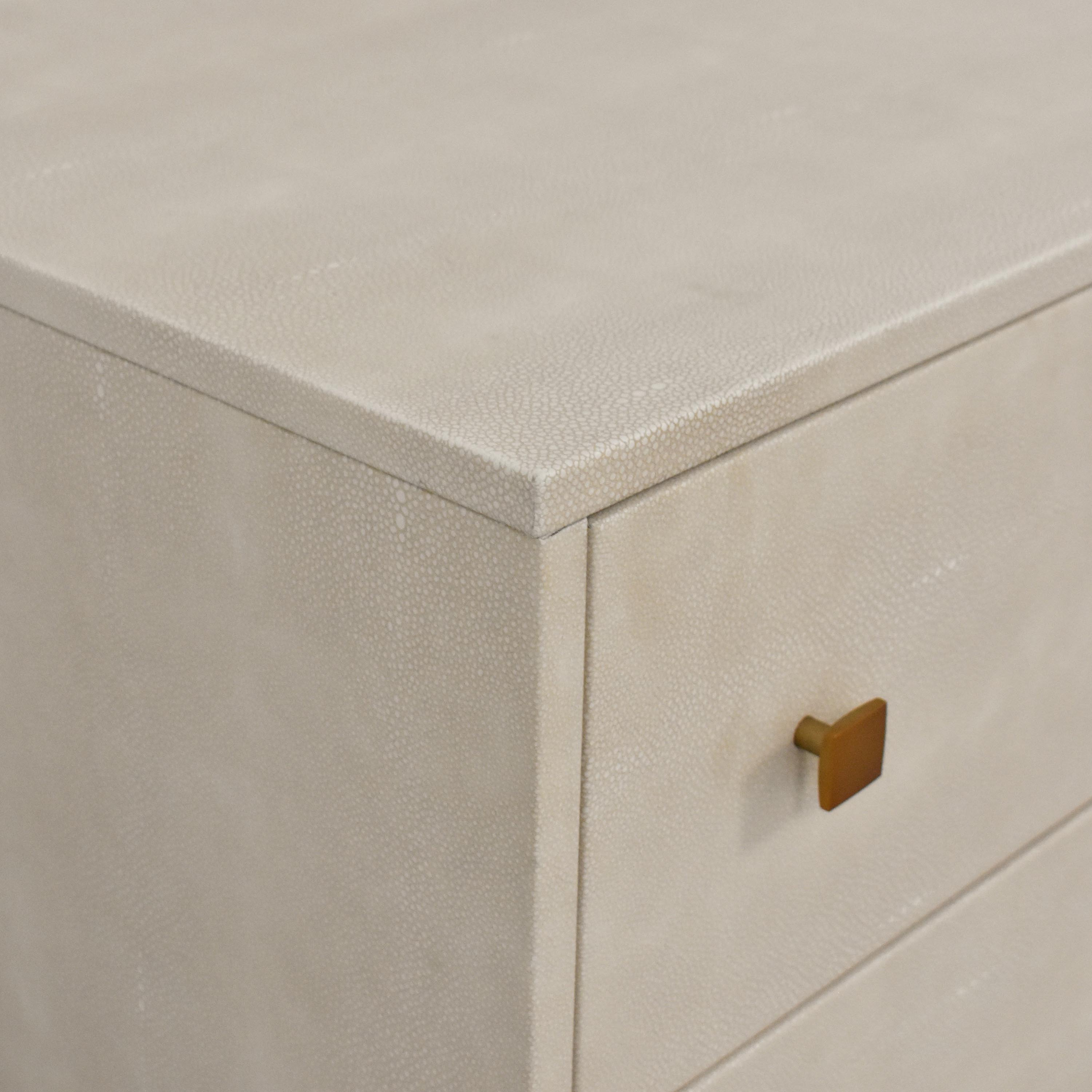 CB2 CB2 Shagreen Embossed Low Dresser coupon
