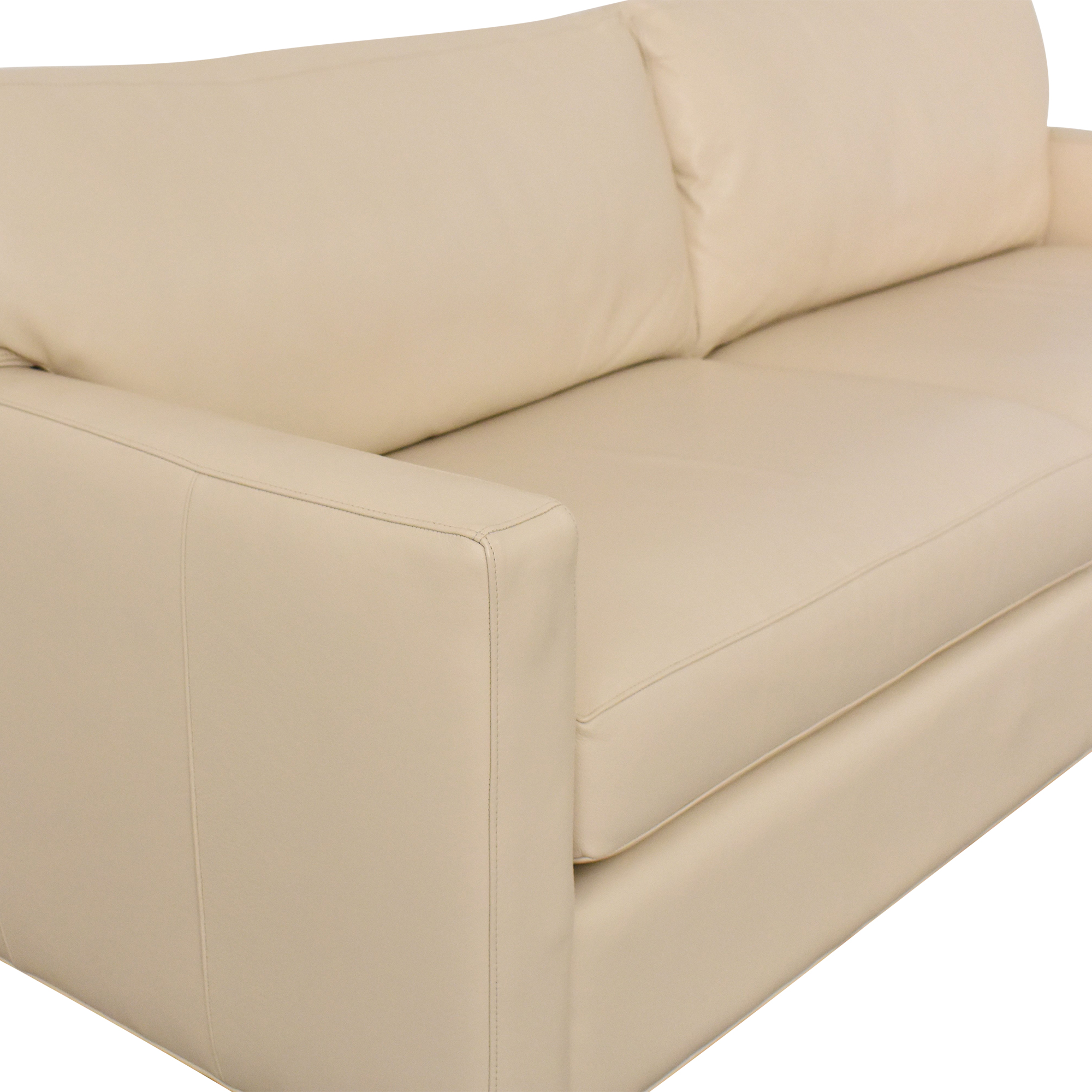 buy Room & Board Two Cushion Sofa Room & Board Sofas