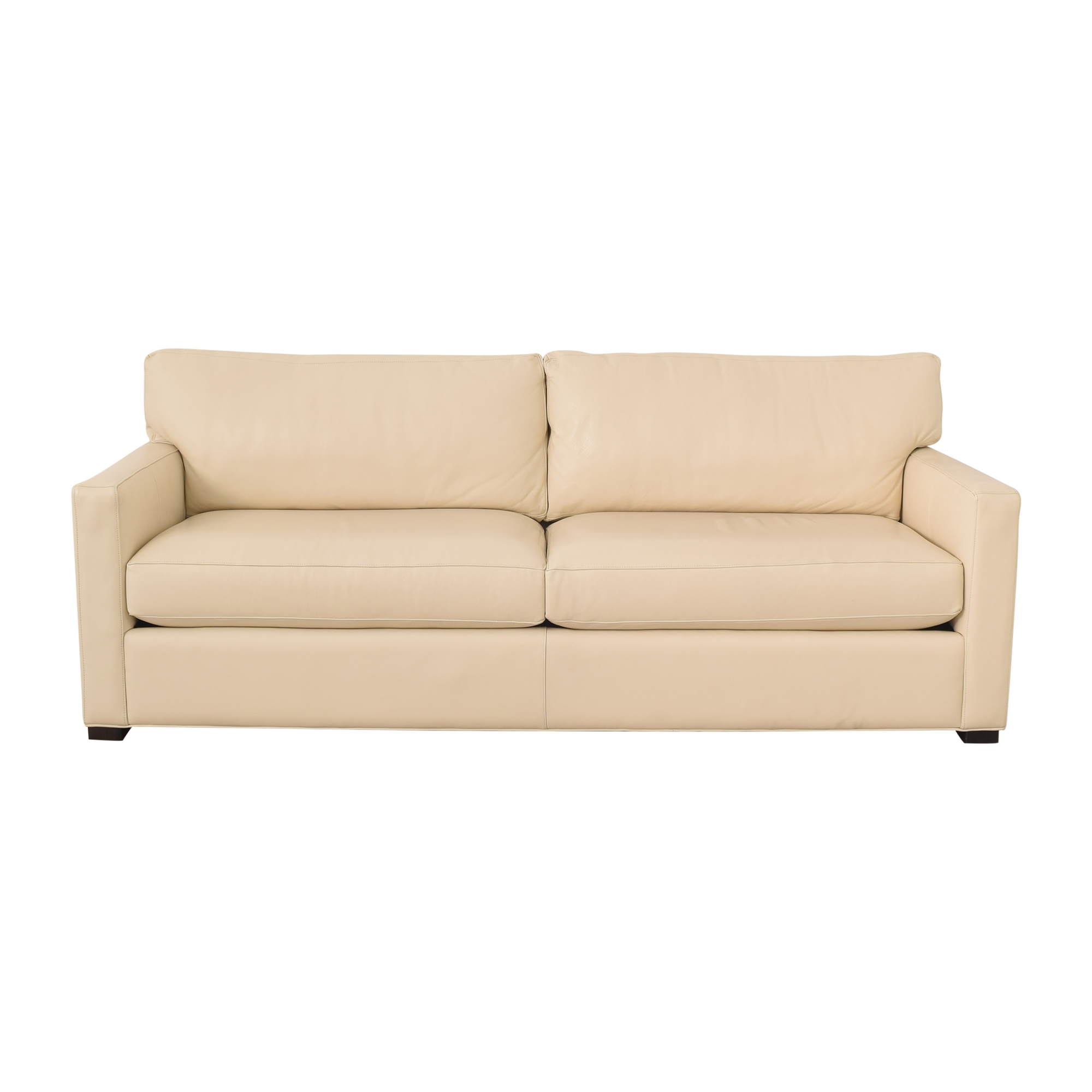 Room & Board Room & Board Two Cushion Sofa ivory