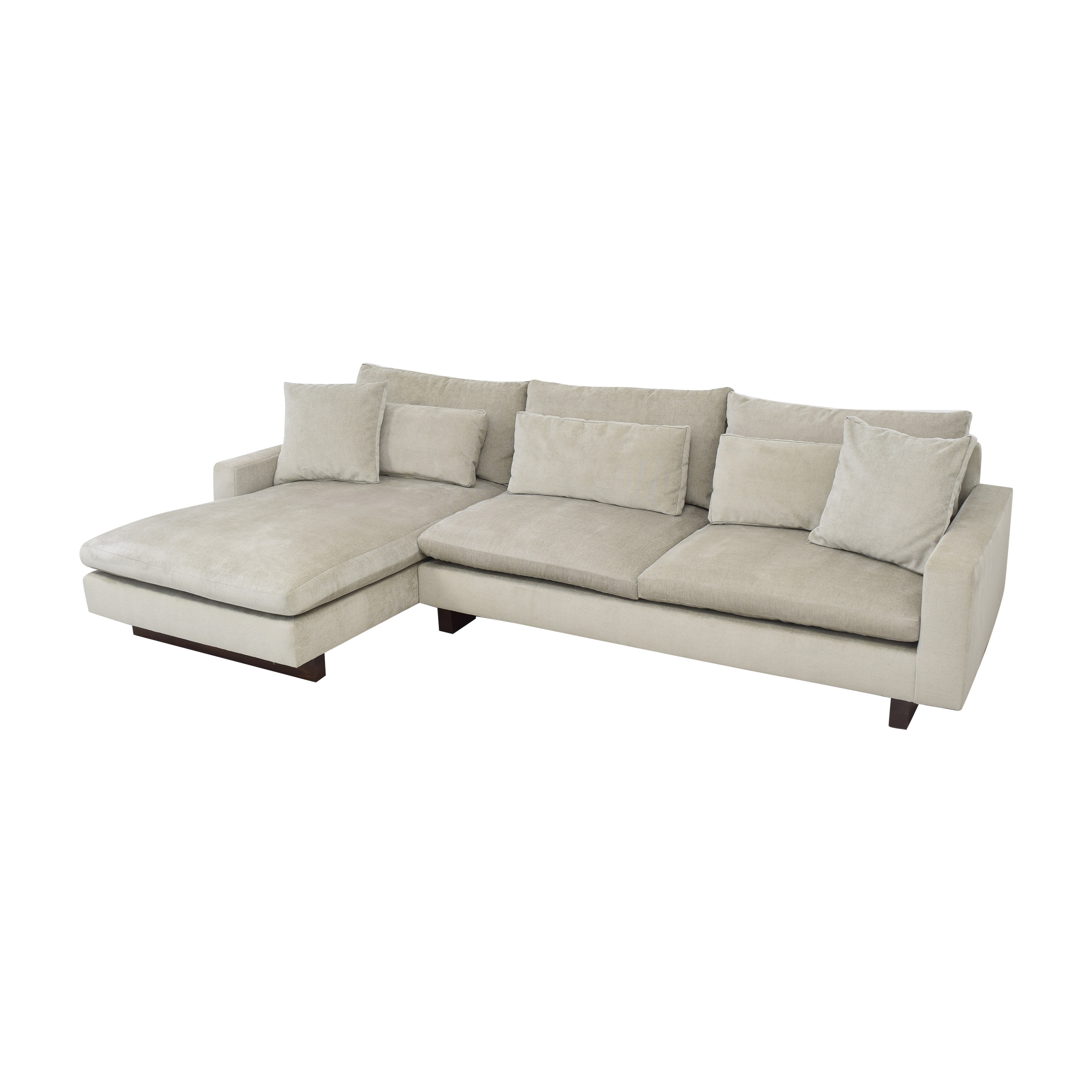 West Elm West Elm Harmony Chaise Sectional Sofa ct