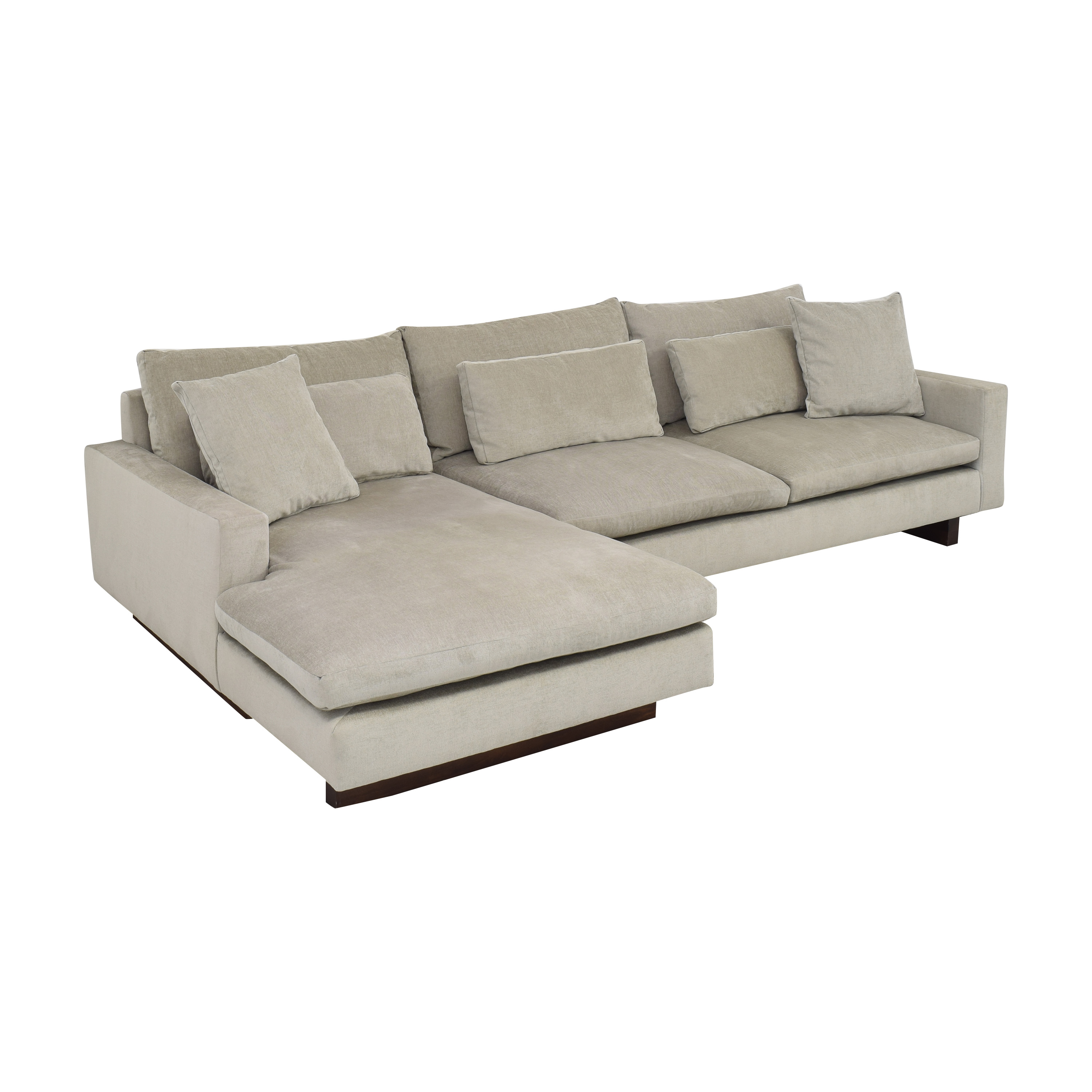 West Elm West Elm Harmony Chaise Sectional Sofa nj