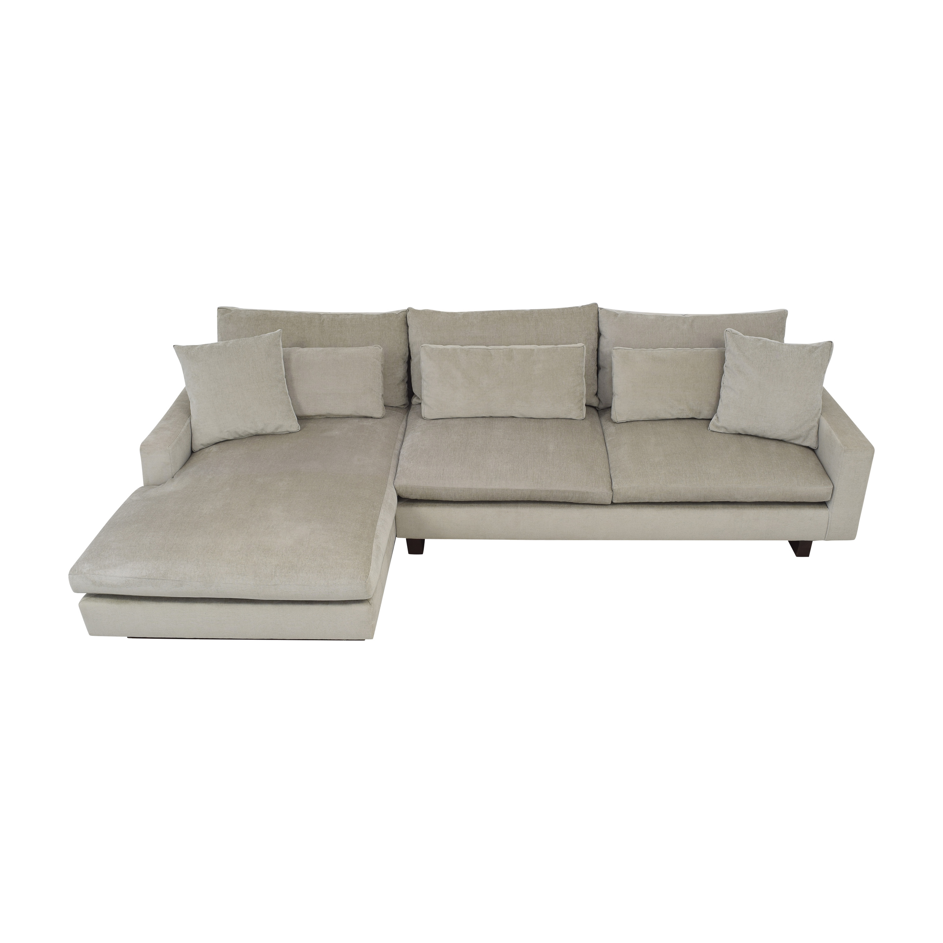 West Elm West Elm Harmony Chaise Sectional Sofa nyc