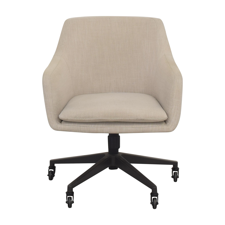 shop West Elm Helvetica Office Chair West Elm Chairs