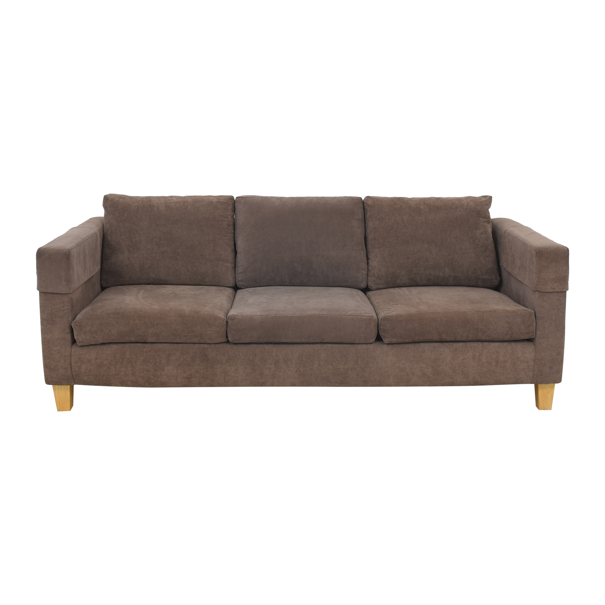 shop Custom Modern Three Cushion Sofa  Sofas
