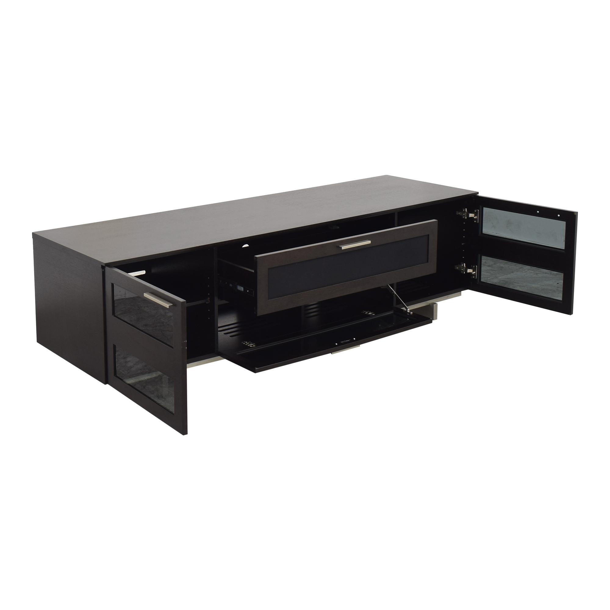 BDI Furniture BDI Avion Noir 8937 Media Unit dark brown