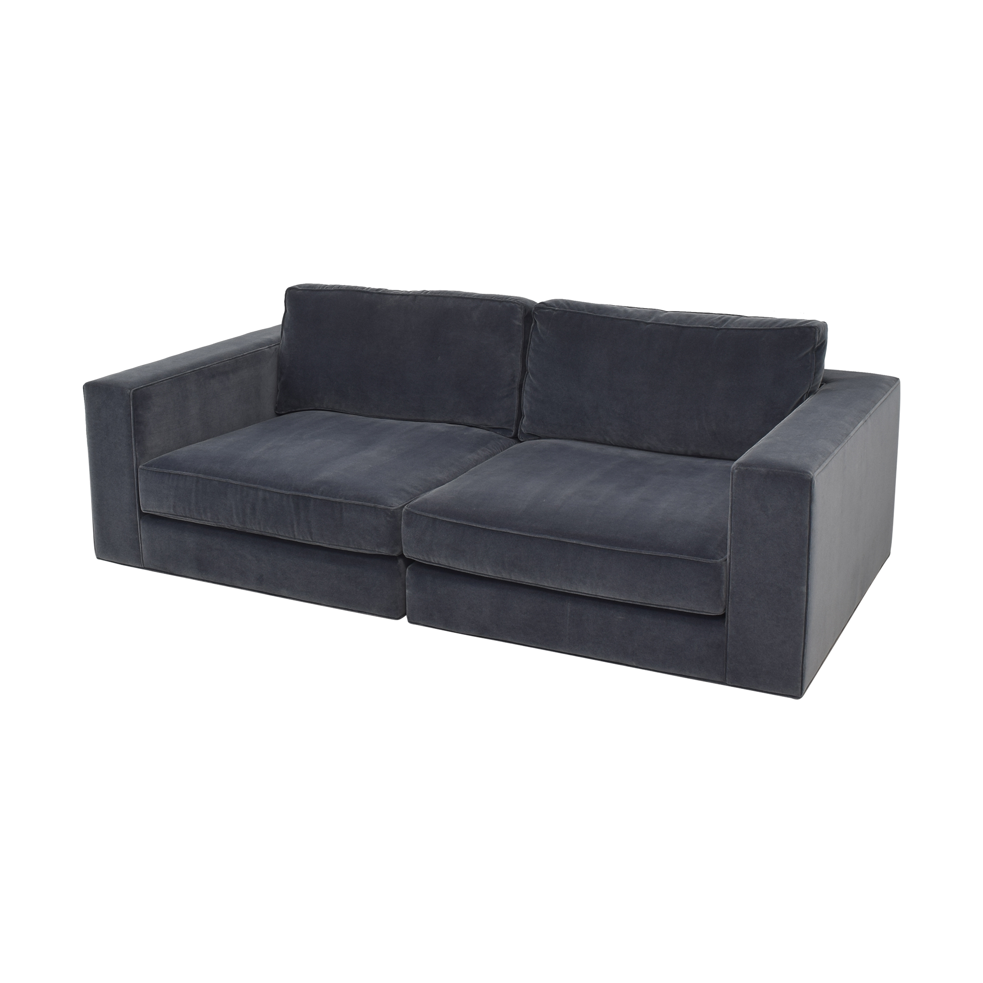 shop Restoration Hardware Restoration Hardware Maddox Sectional Sofa with Ottoman online