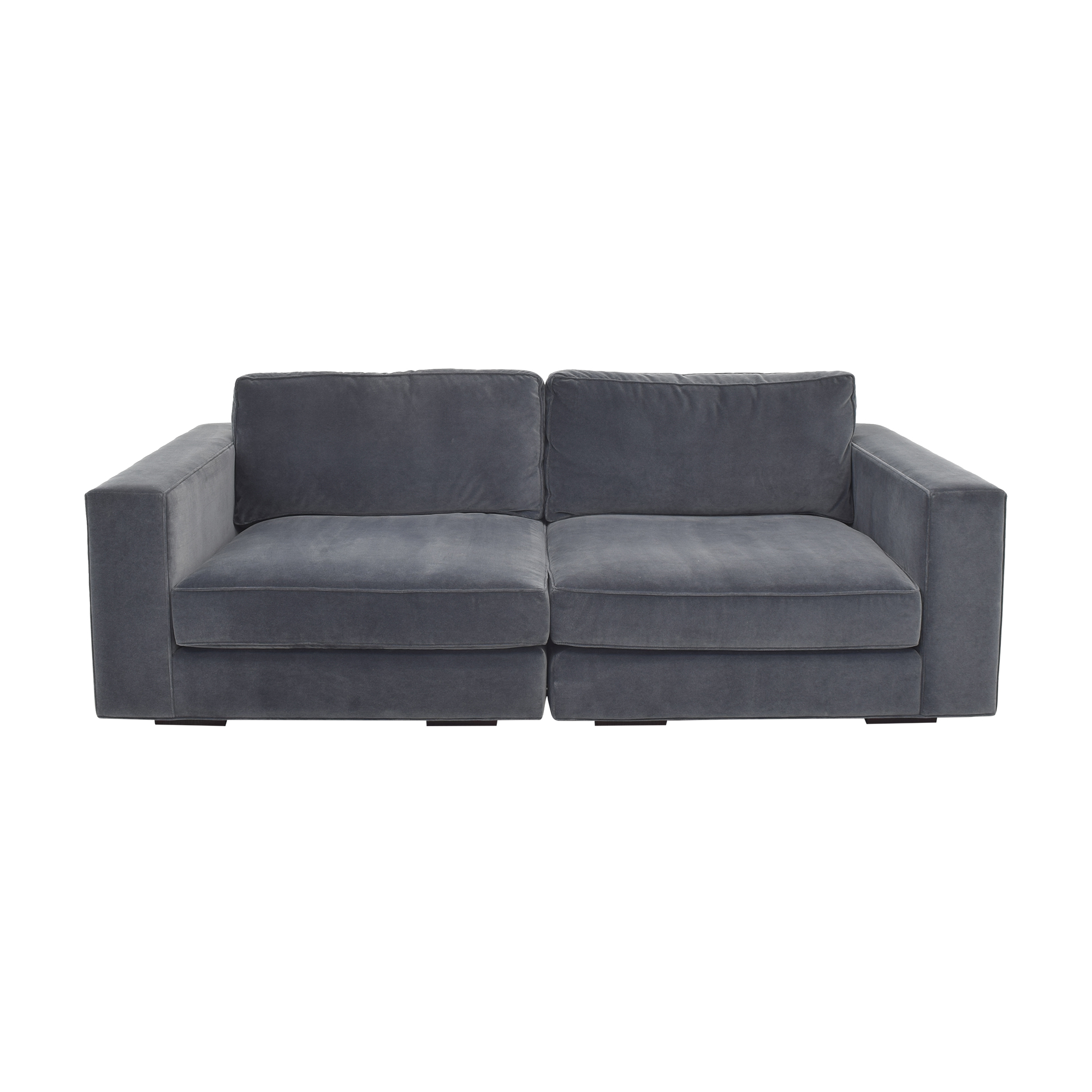 Restoration Hardware Maddox Sectional Sofa with Ottoman sale