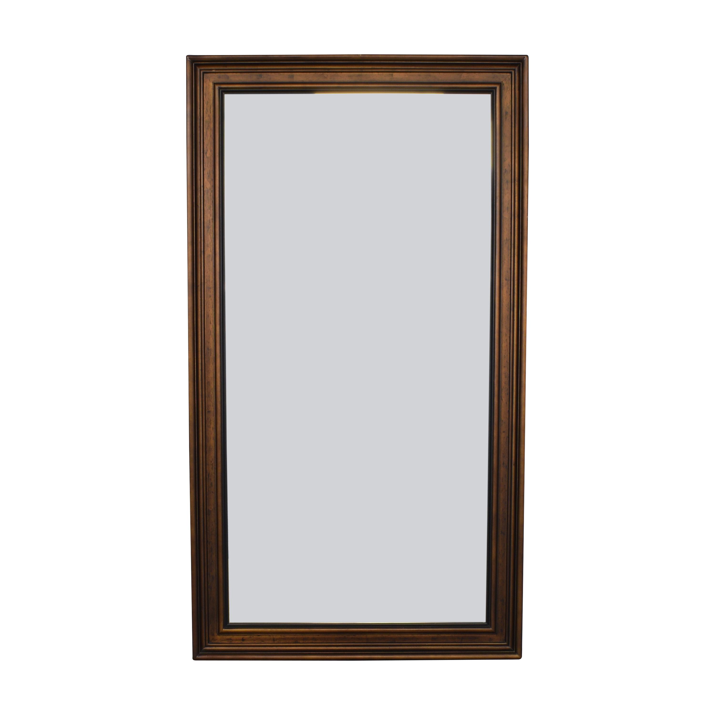 Framed Leaning Floor Mirror for sale