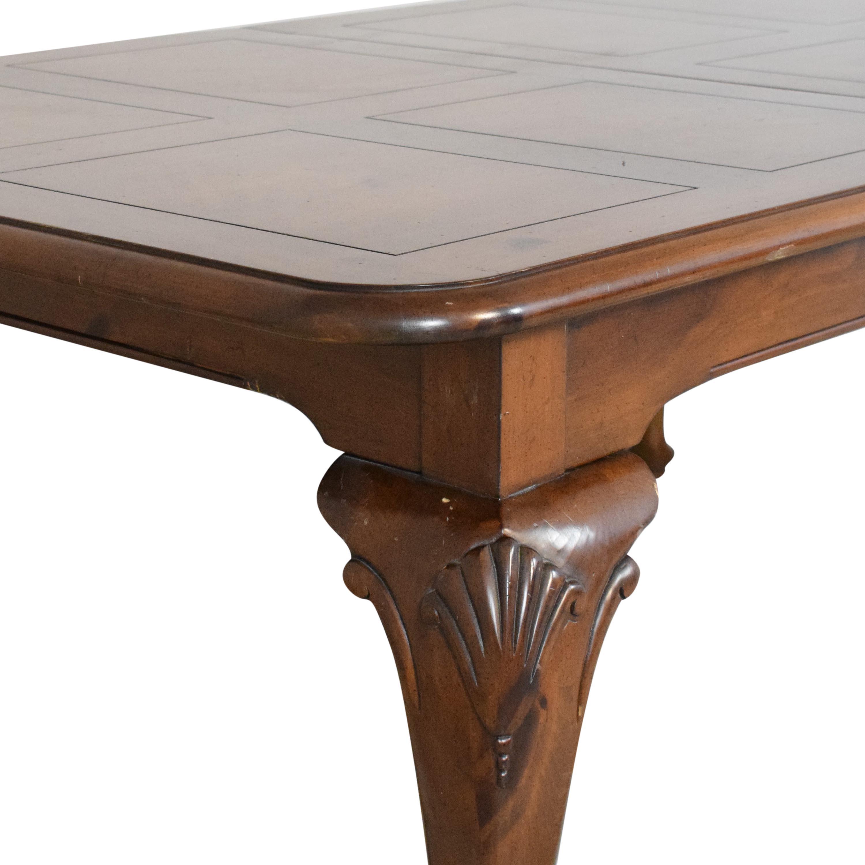shop Fancher Furniture Extendable Dining Table Fancher Furniture