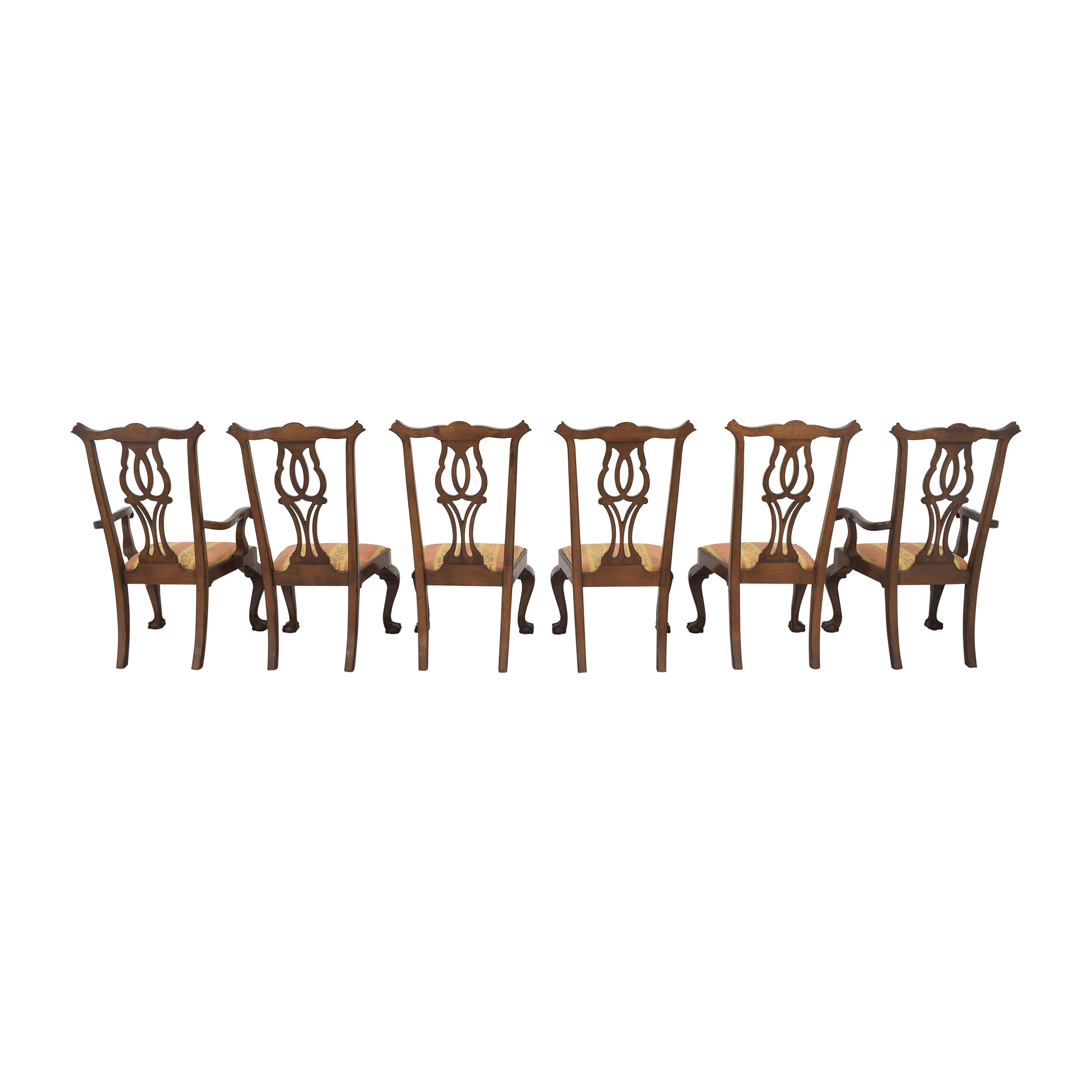 Fancher Furniture Fancher Furniture Chippendale Dining Chairs for sale
