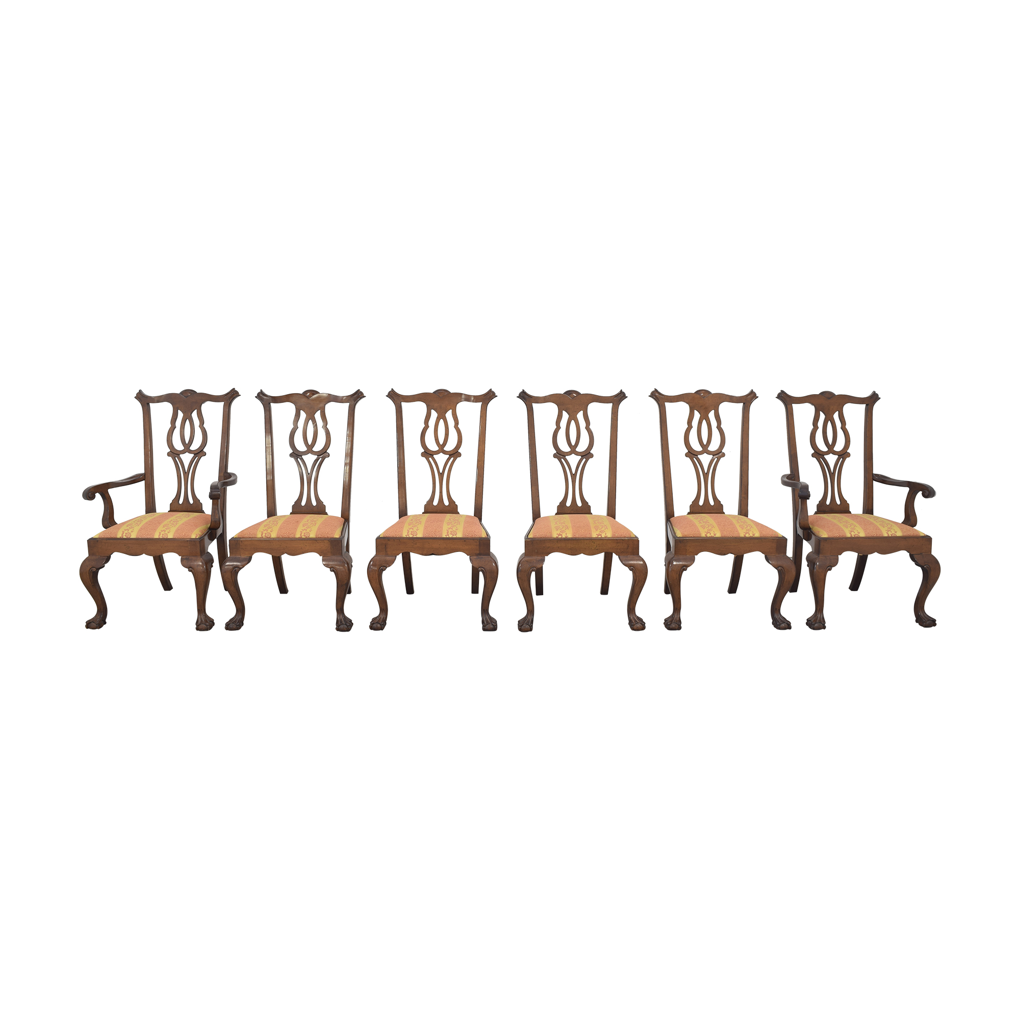 Fancher Furniture Fancher Furniture Chippendale Dining Chairs