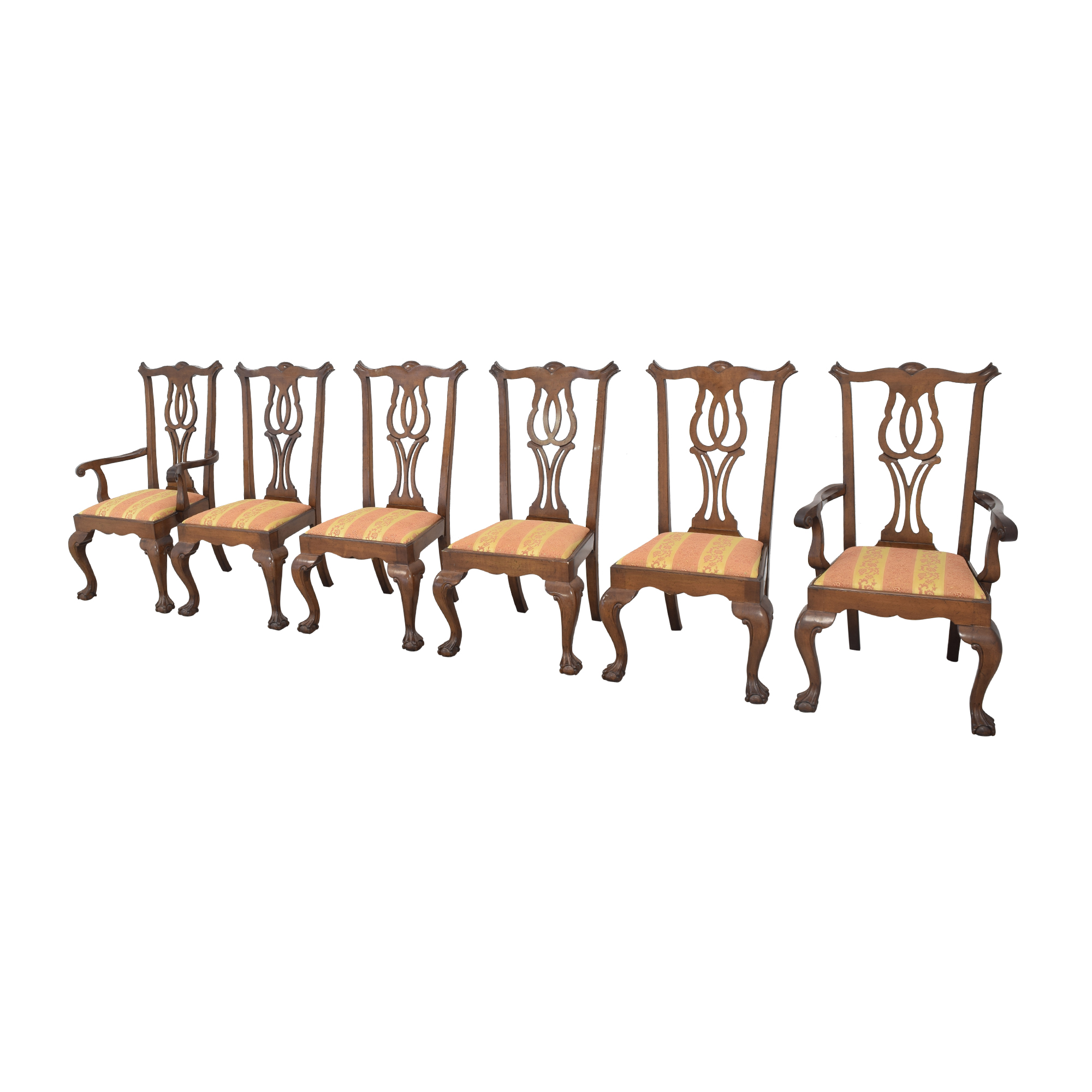Fancher Furniture Fancher Furniture Chippendale Dining Chairs ct