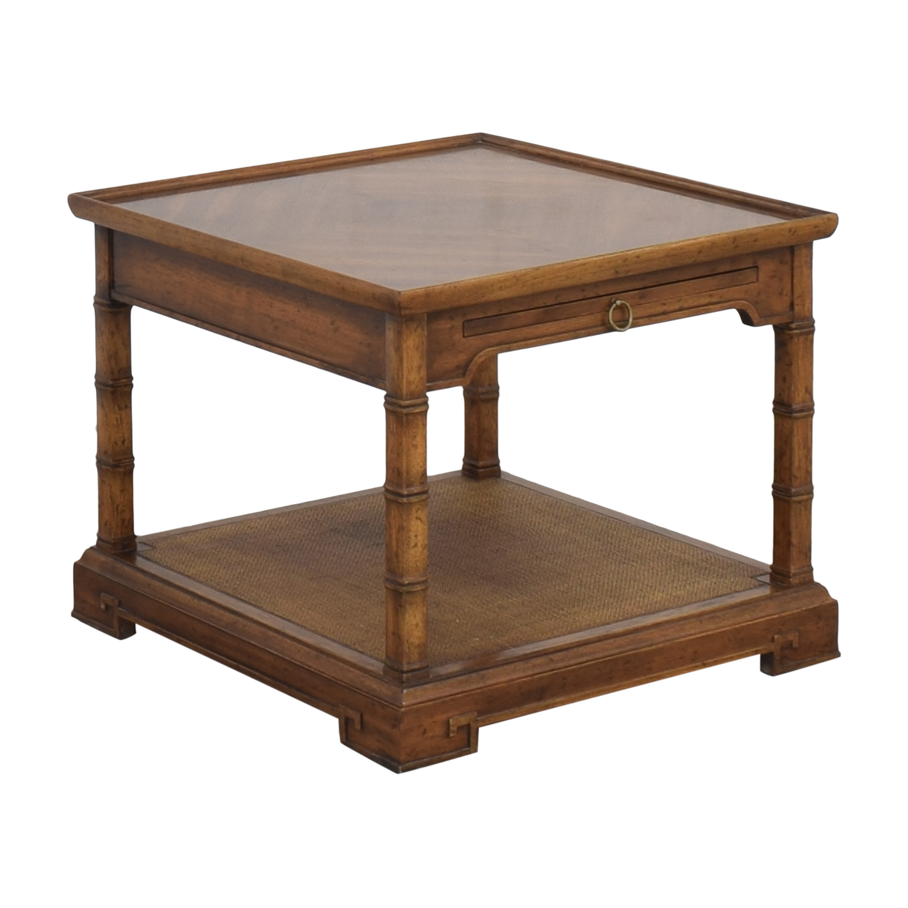 Heritage End Table with Desk Extension / Tables