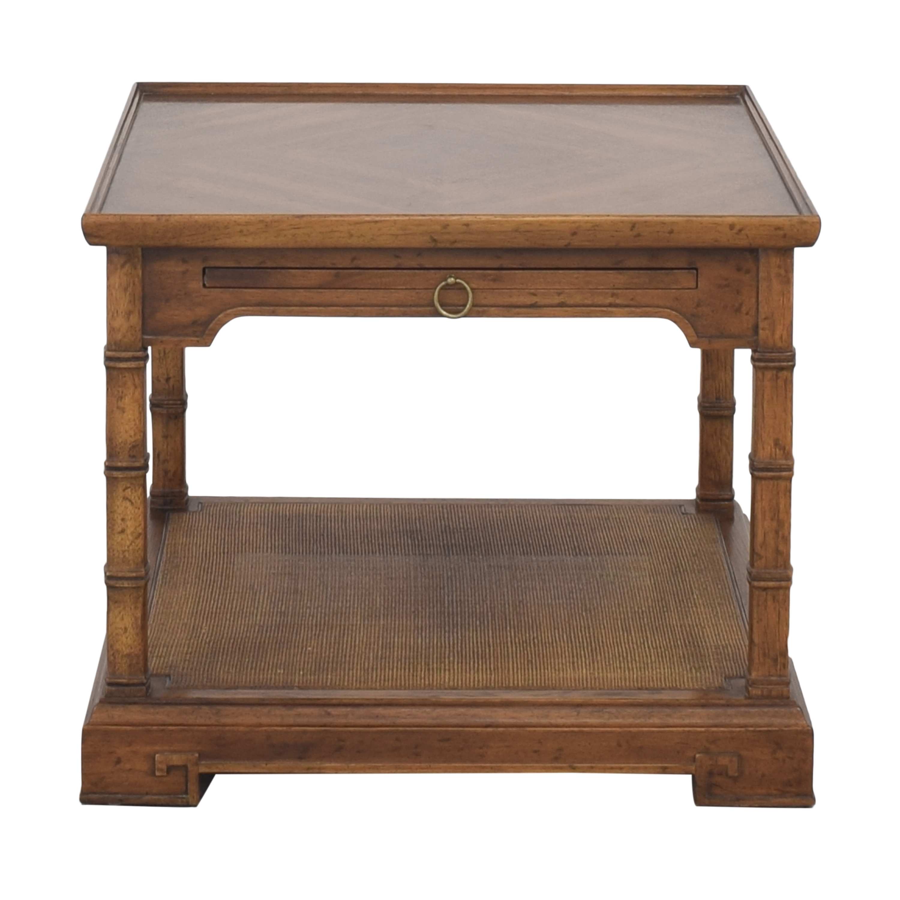 Heritage Heritage End Table with Desk Extension pa