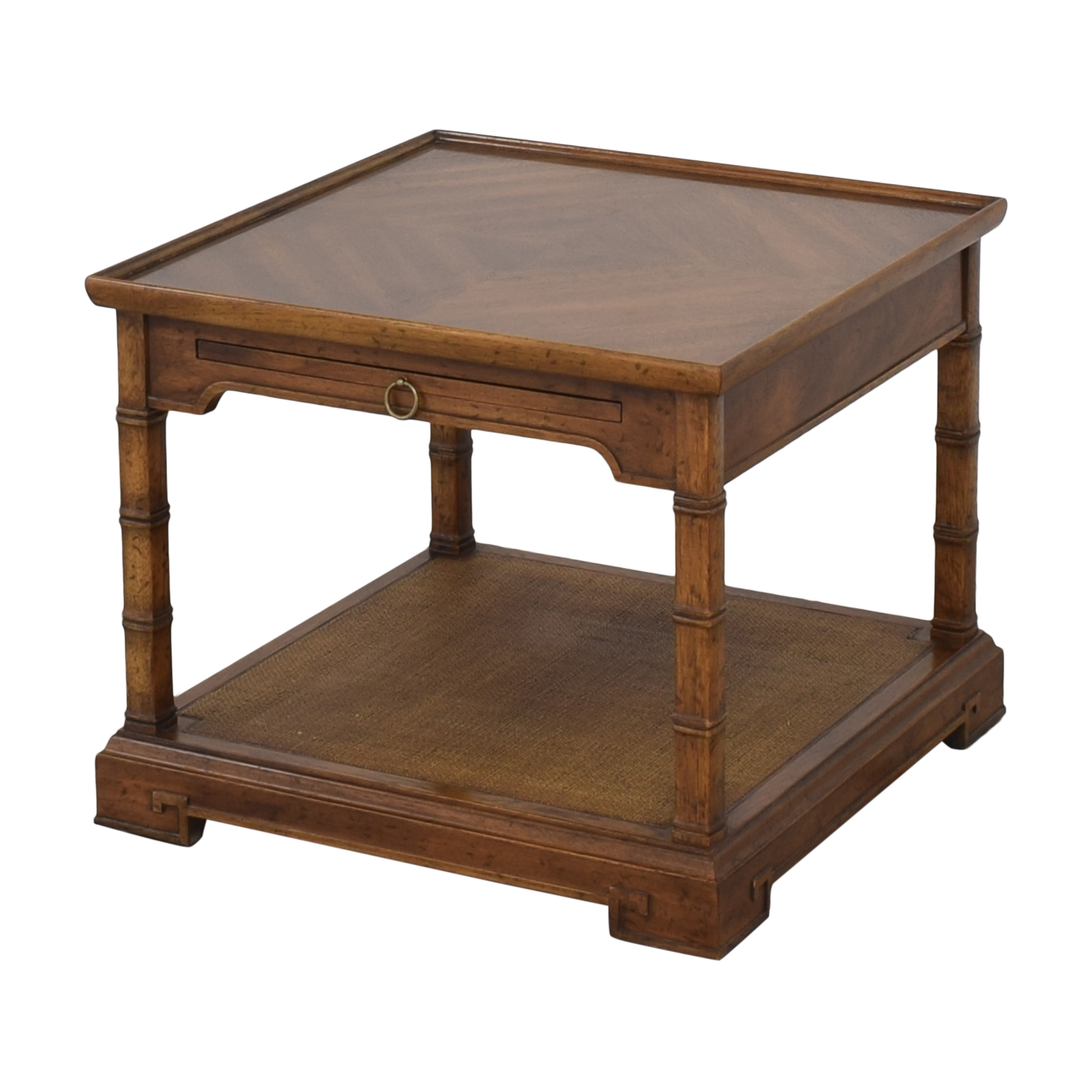 Heritage Heritage End Table with Desk Extension End Tables