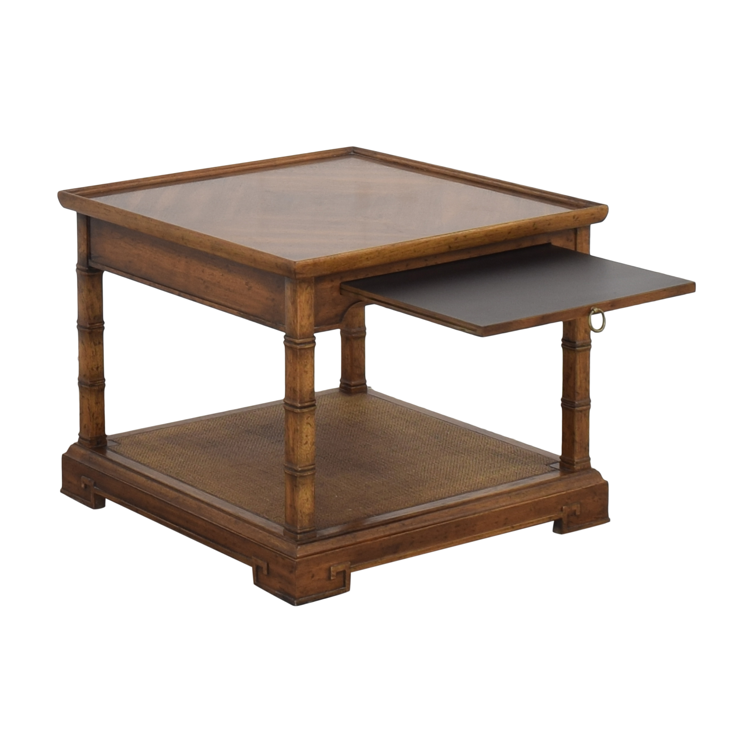 Heritage Heritage End Table with Desk Extension brown