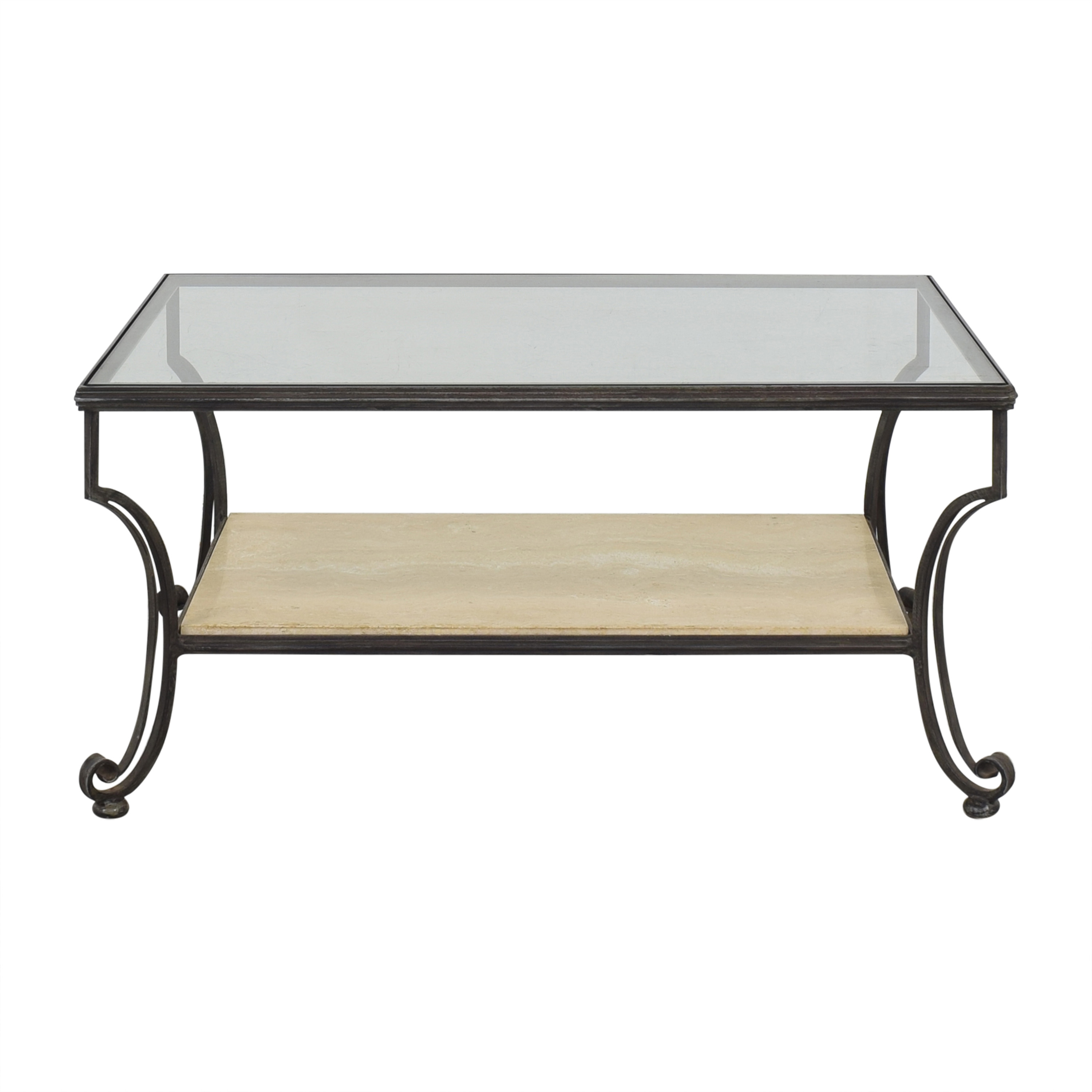 Domain Coffee Table with Transparent Surface Domain