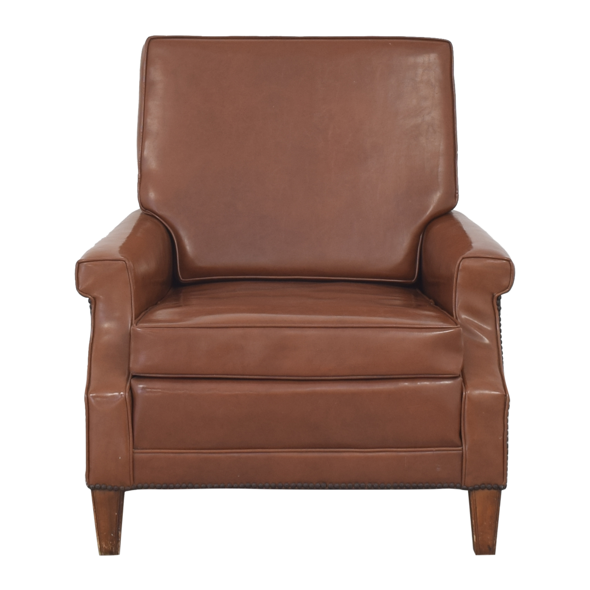 Nailhead Trim Armchair brown