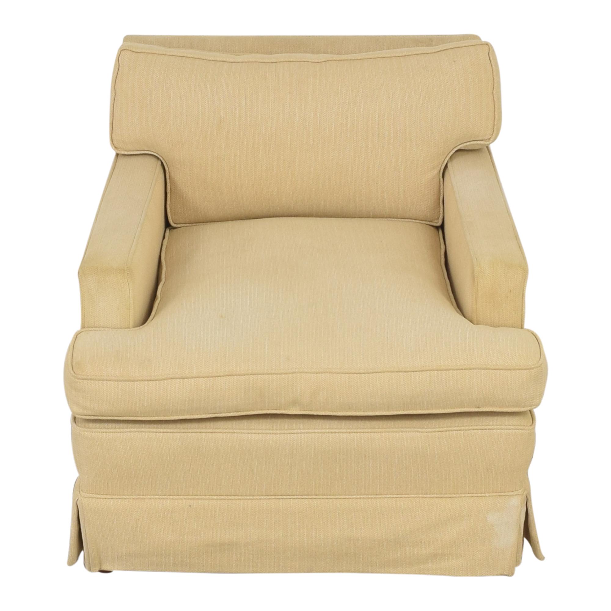 shop John Stuart Inc. Skirted Arm Chair John Stuart Inc.
