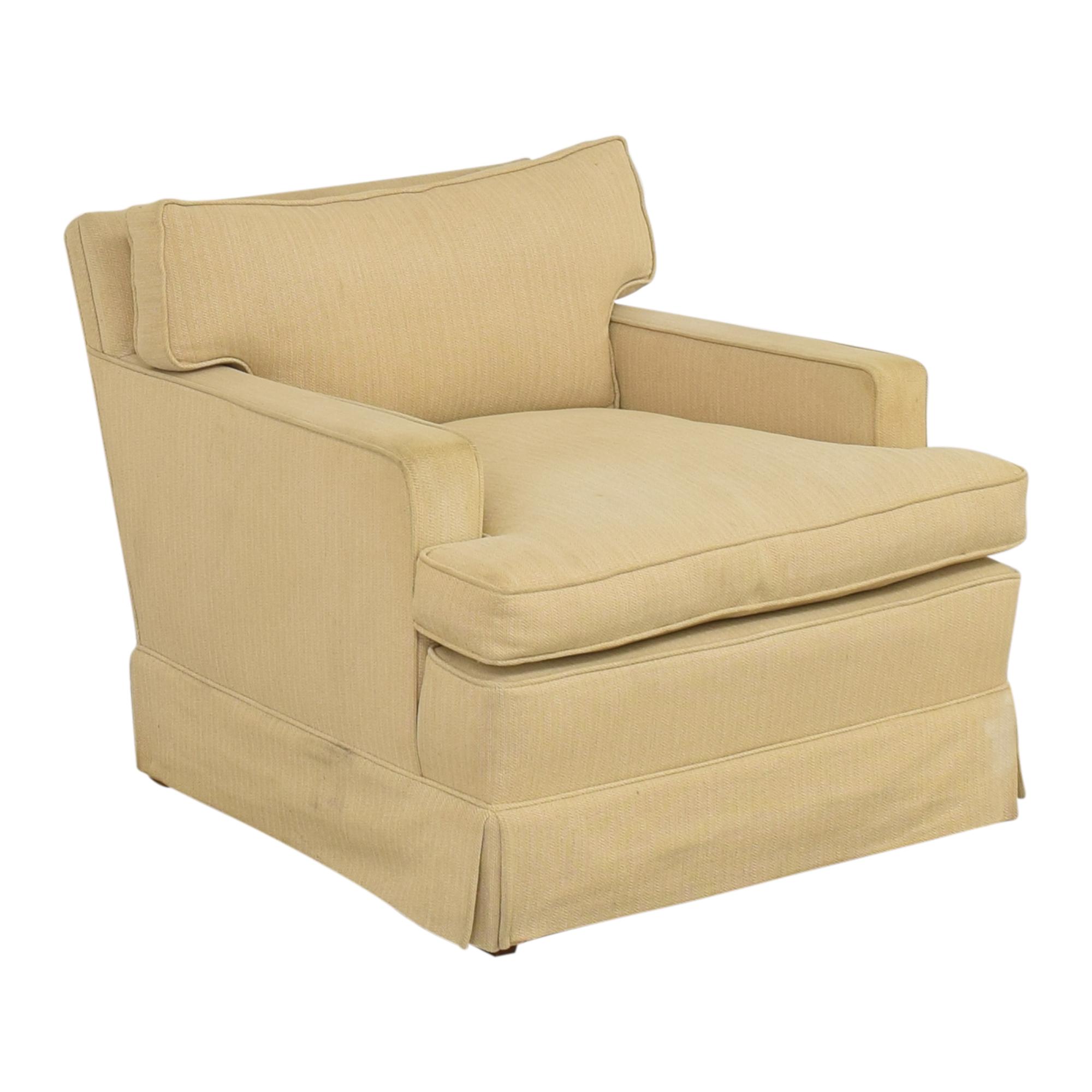 buy John Stuart Inc. Skirted Arm Chair John Stuart Inc. Chairs