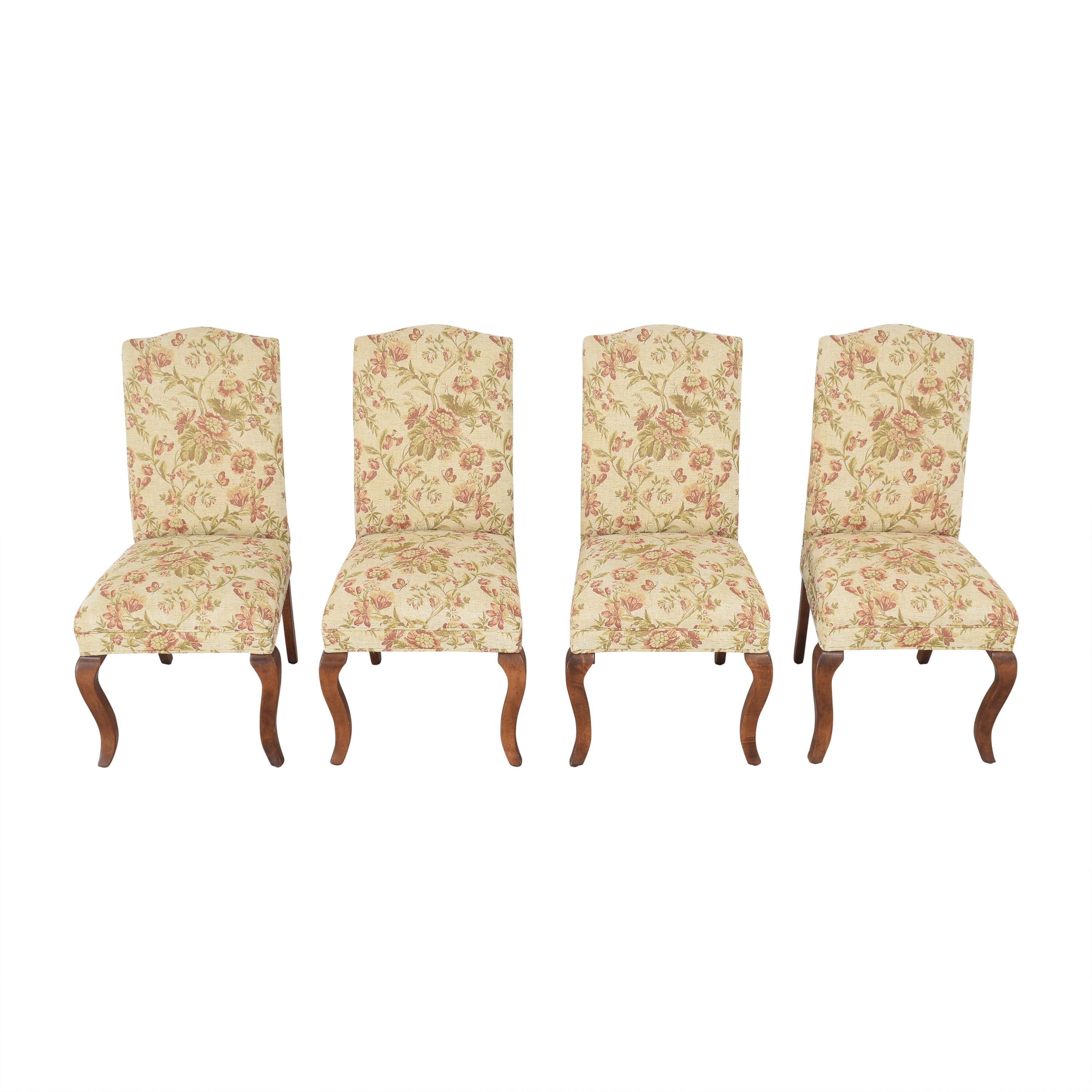 Queen Anne Upholstered Dining Chairs / Dining Chairs