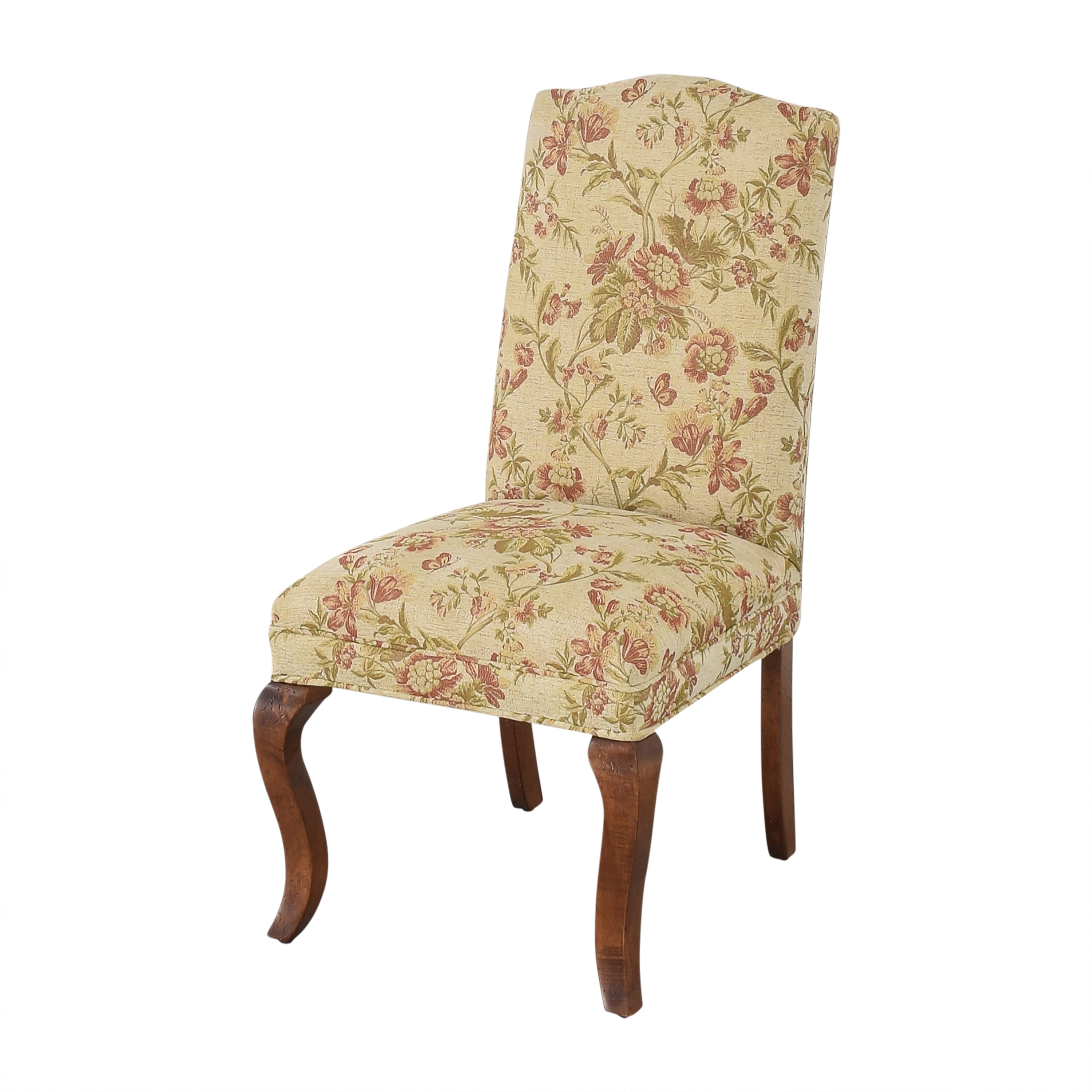 Queen Anne Upholstered Dining Chairs dimensions