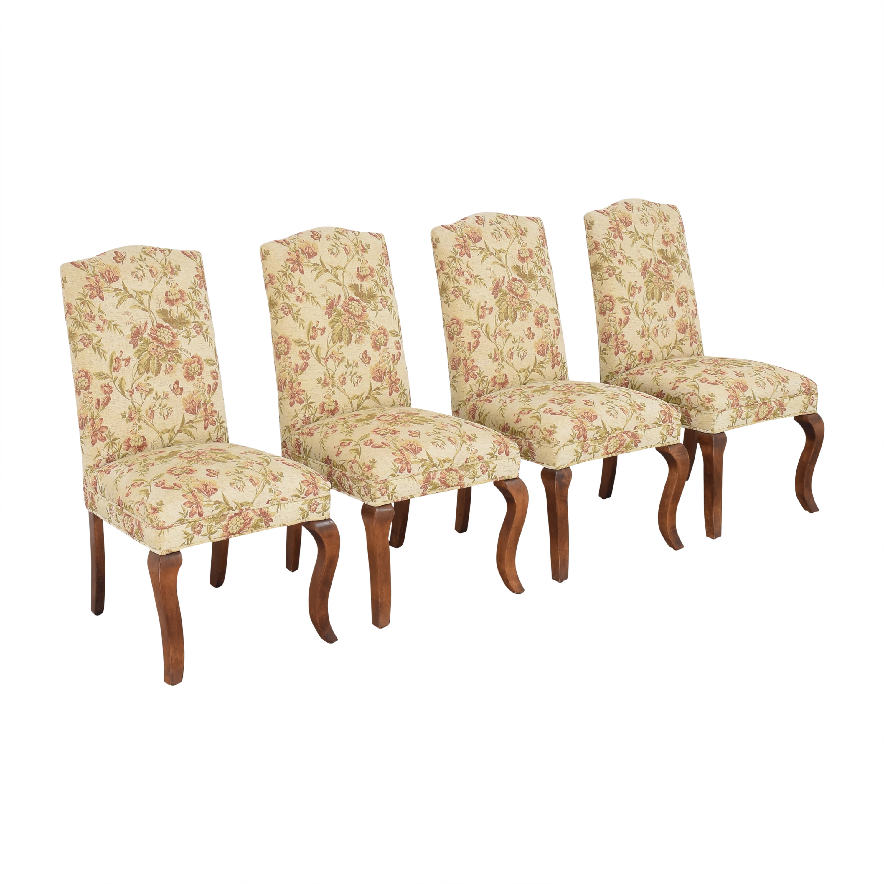 Queen Anne Upholstered Dining Chairs price