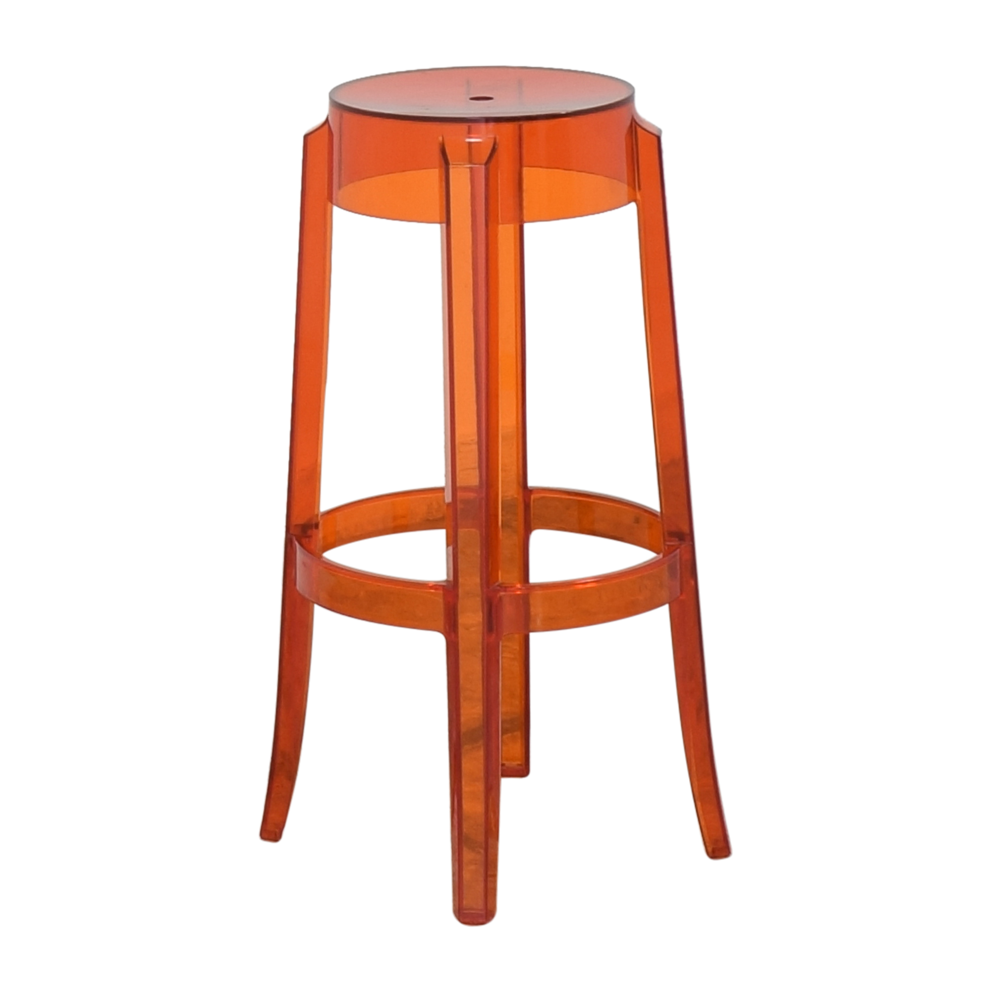 Kartell Kartell Charles Ghost Stool by Phillipe Starck Chairs