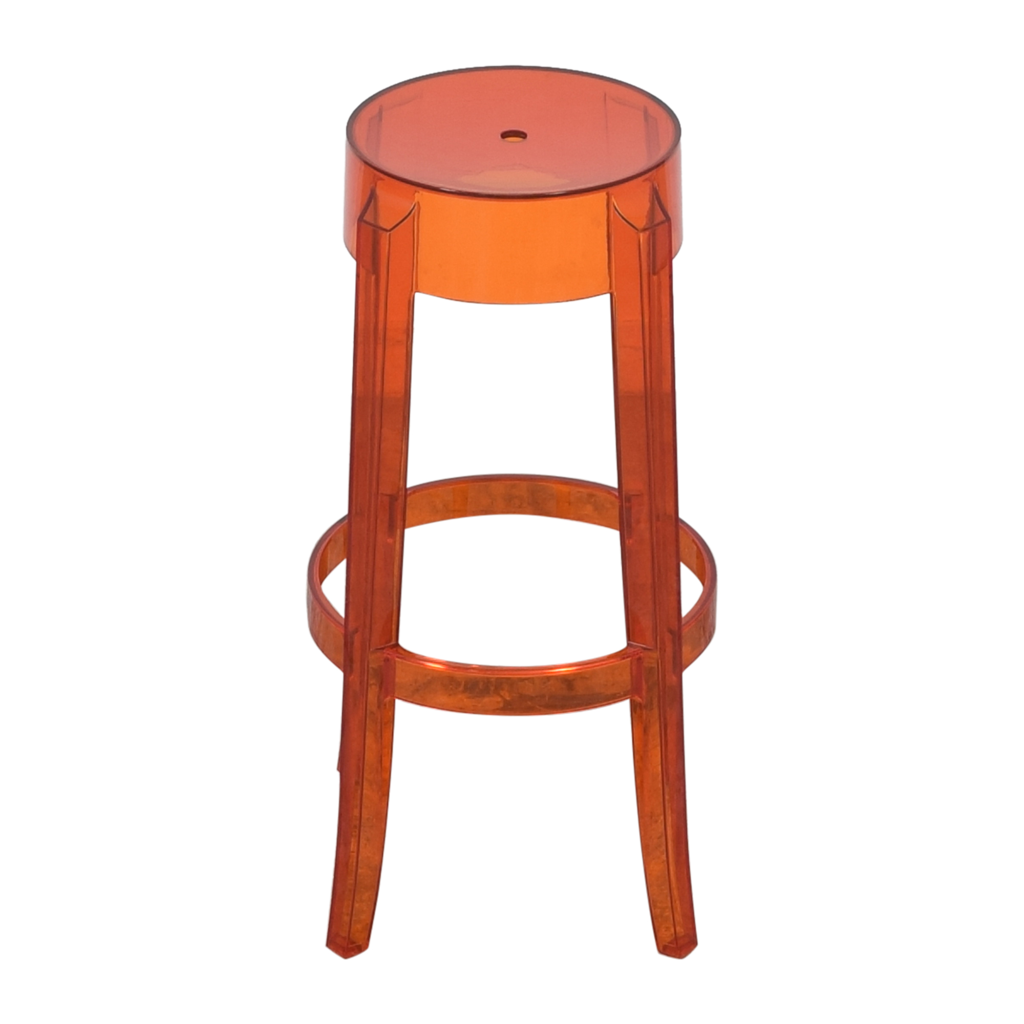 Kartell Charles Ghost Stool by Phillipe Starck sale