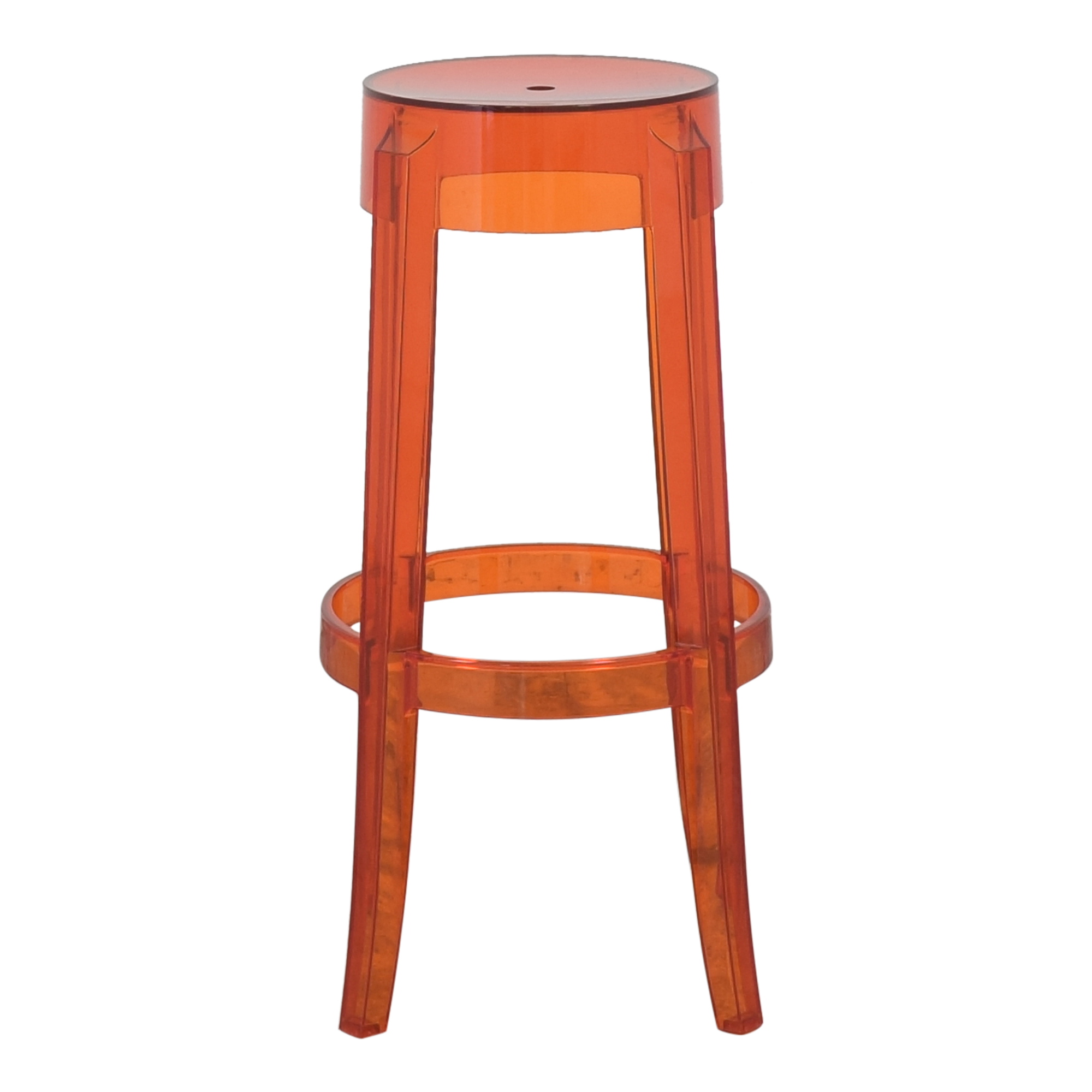 buy Kartell Kartell Charles Ghost Stool by Phillipe Starck online