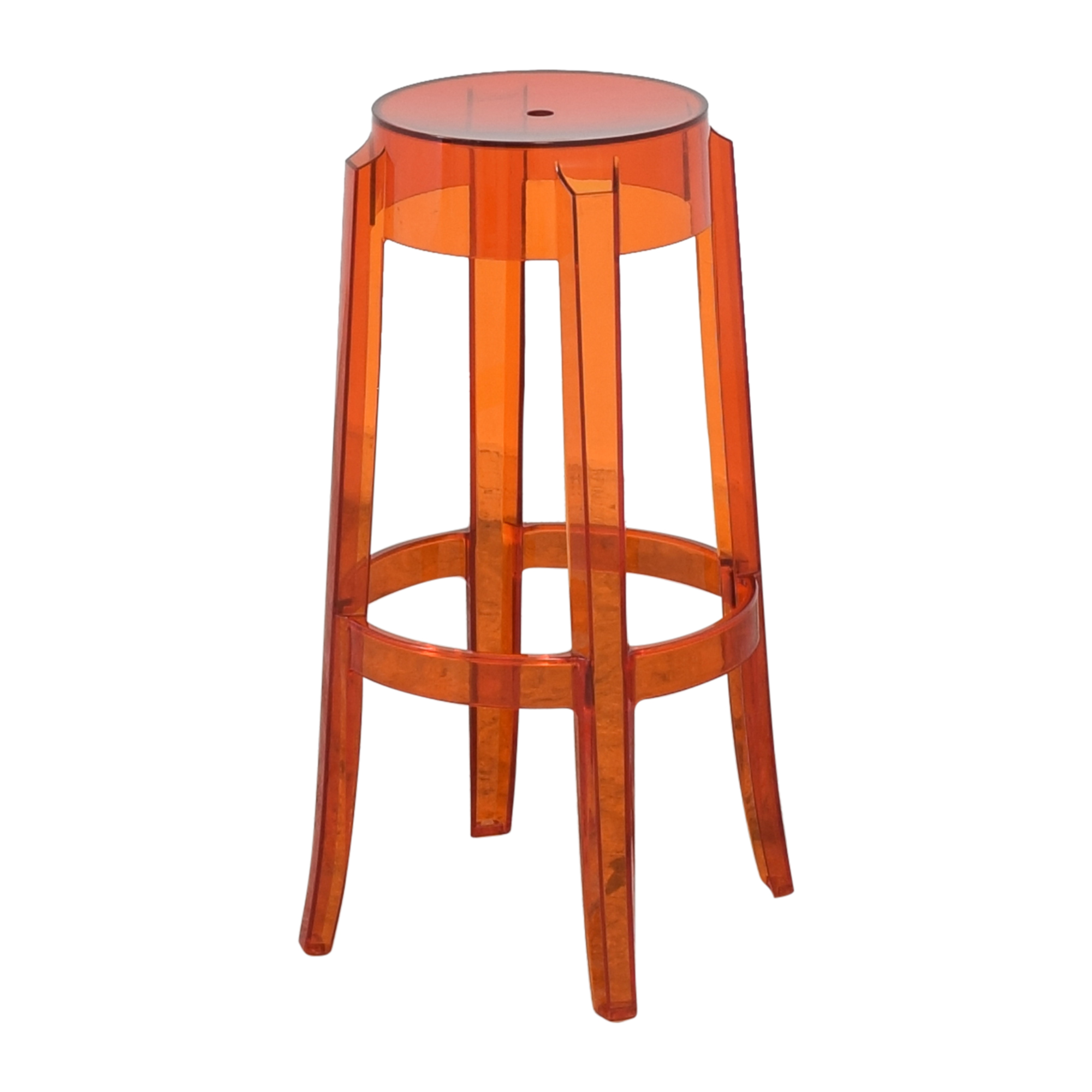 Kartell Kartell Charles Ghost Stool by Phillipe Starck ct