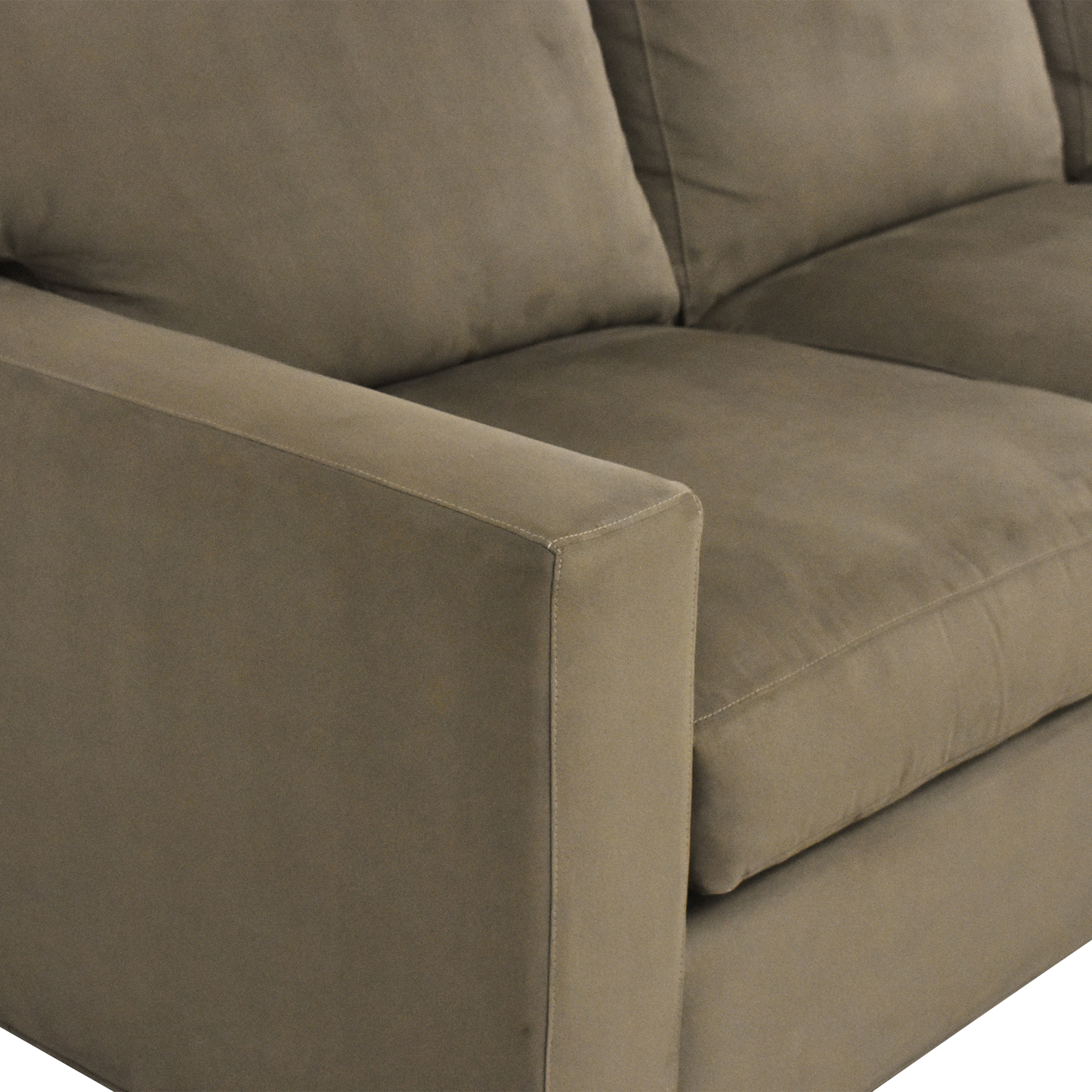 Crate & Barrel Axis II Two Piece Sectional Sofa / Sectionals