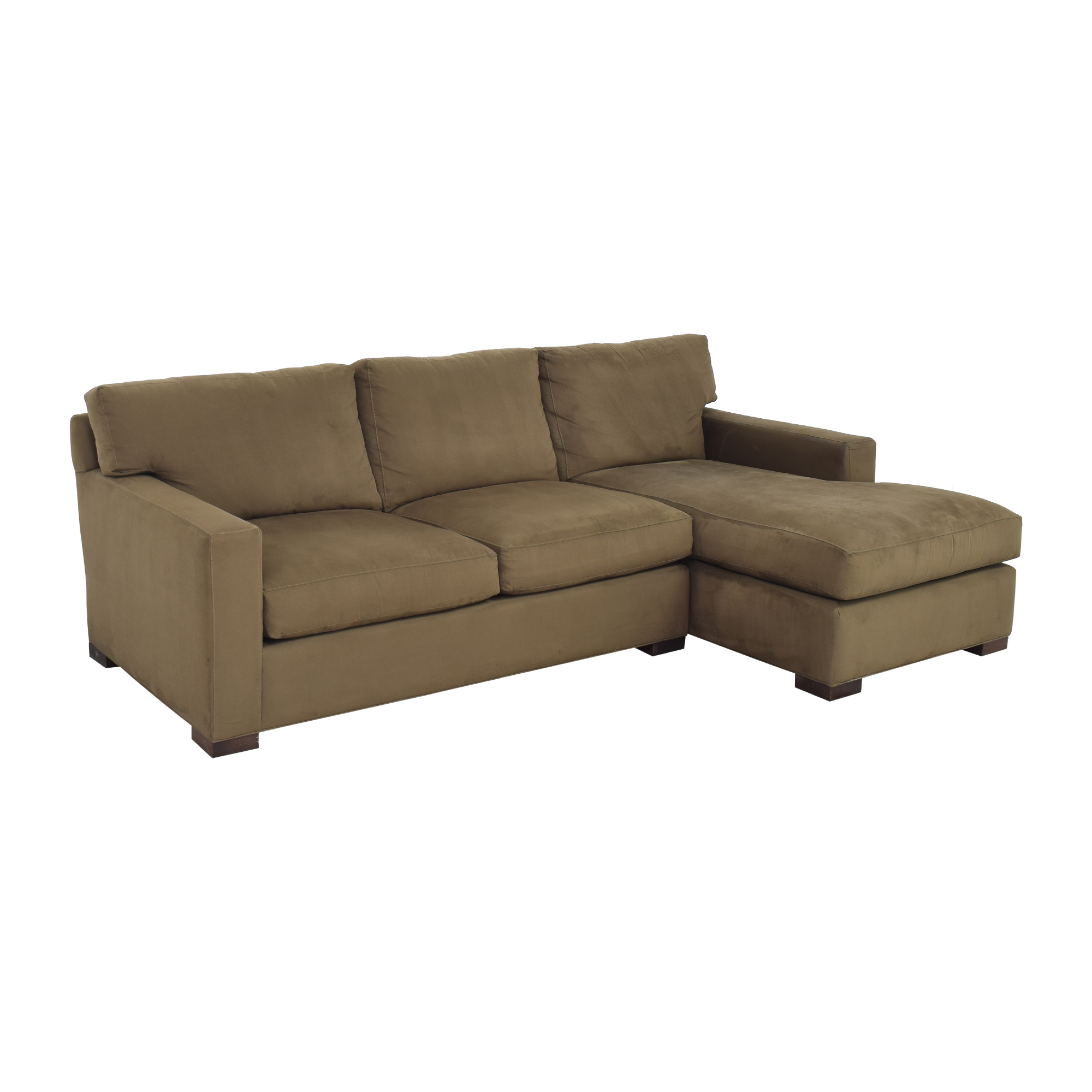 Crate & Barrel Crate & Barrel Axis II Two Piece Sectional Sofa price