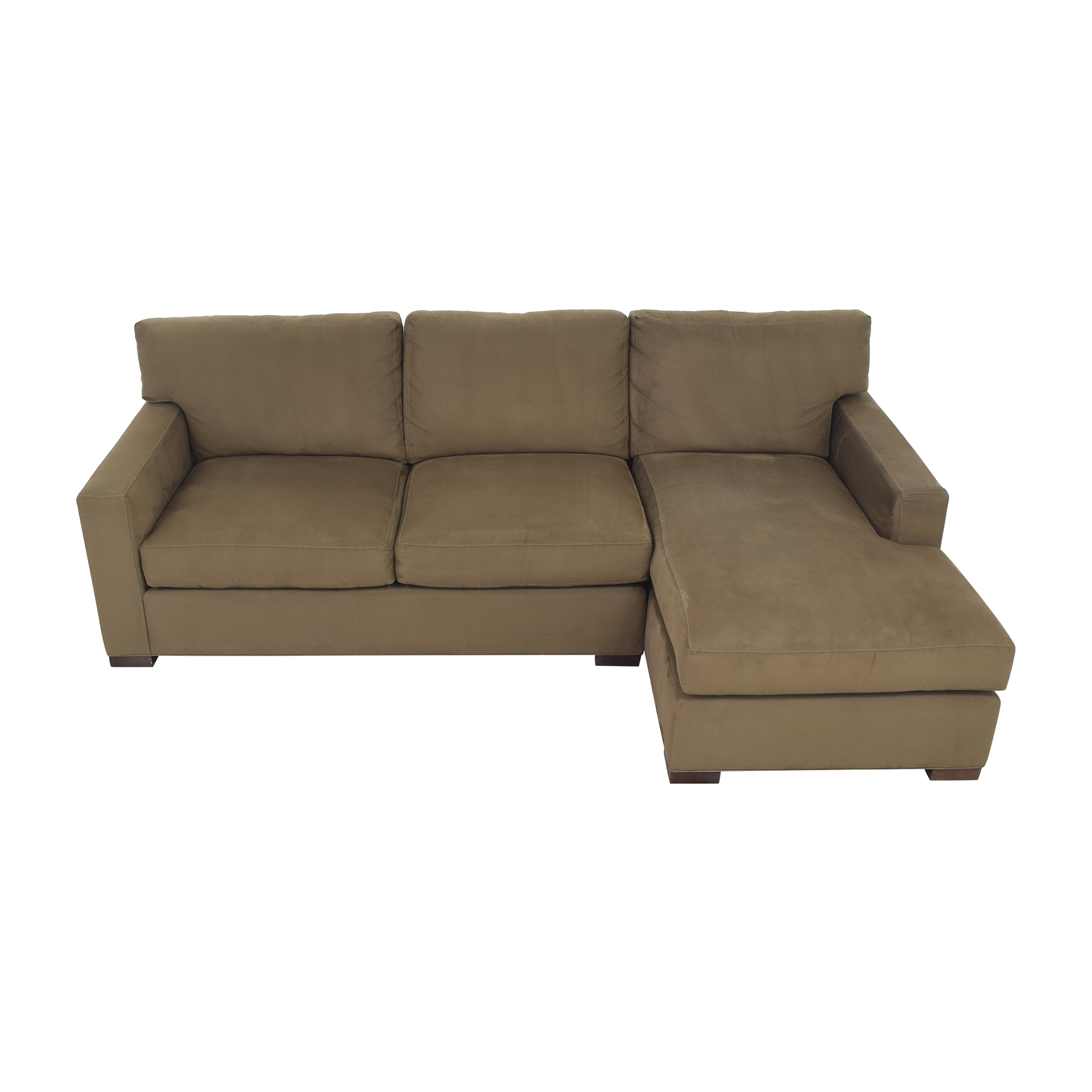 Crate & Barrel Crate & Barrel Axis II Two Piece Sectional Sofa for sale