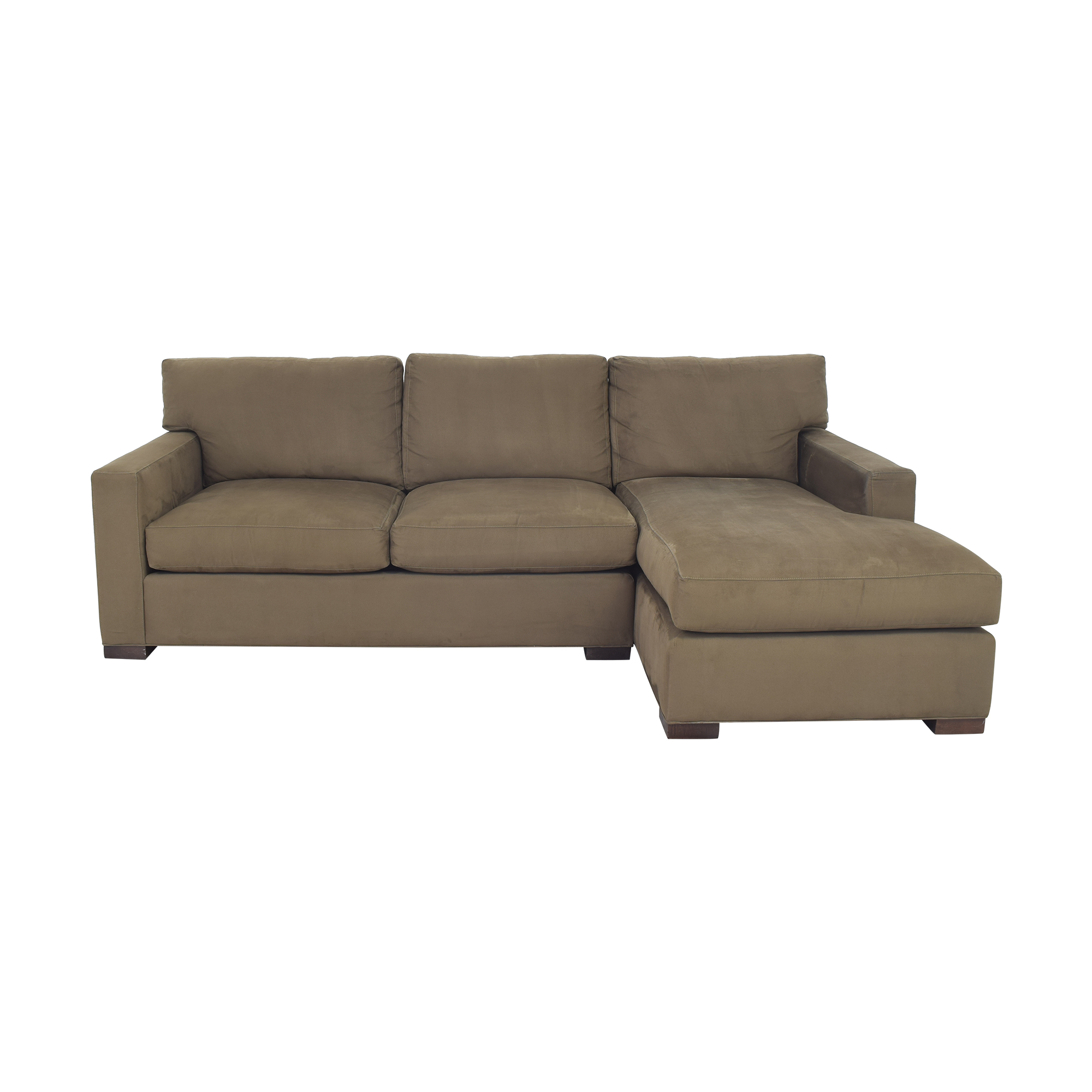 Crate & Barrel Axis II Two Piece Sectional Sofa sale
