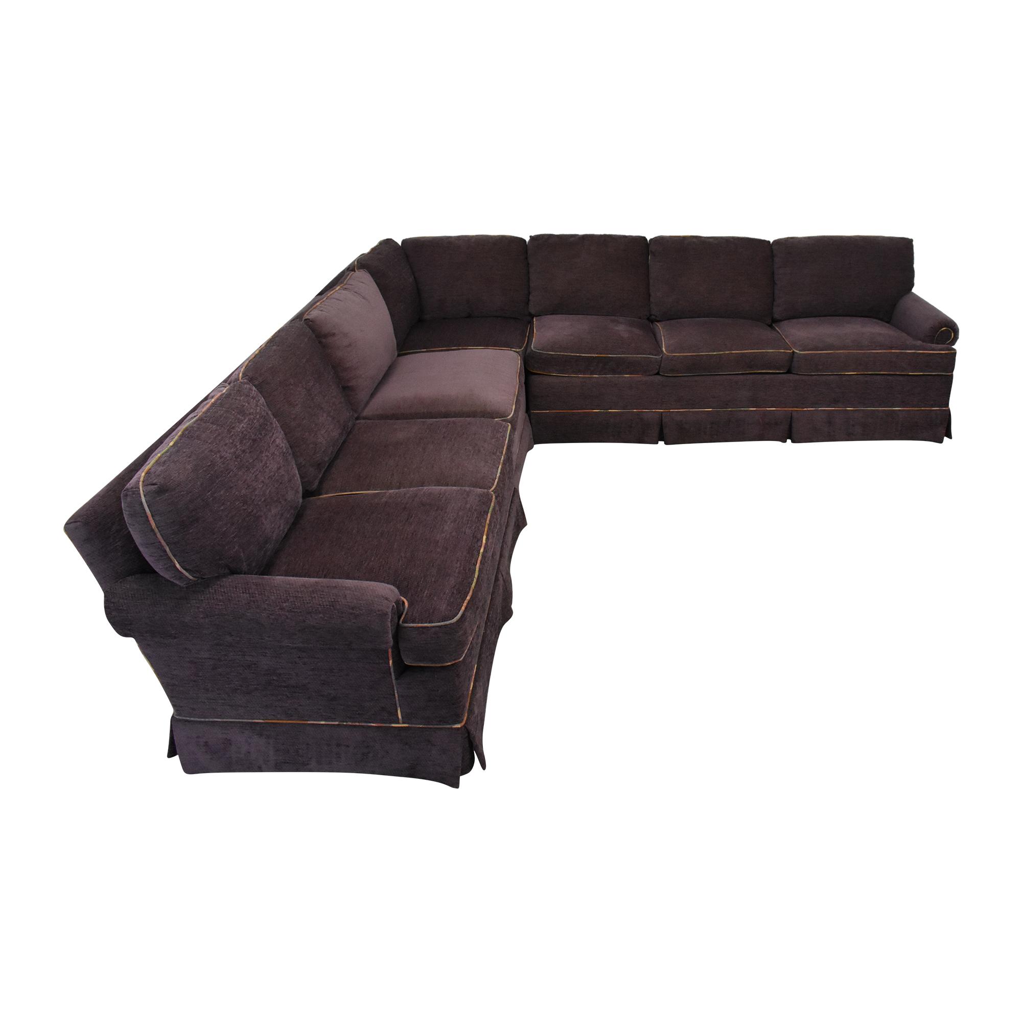 Charles Stewart Company L Shaped Sectional Sofa / Sofas