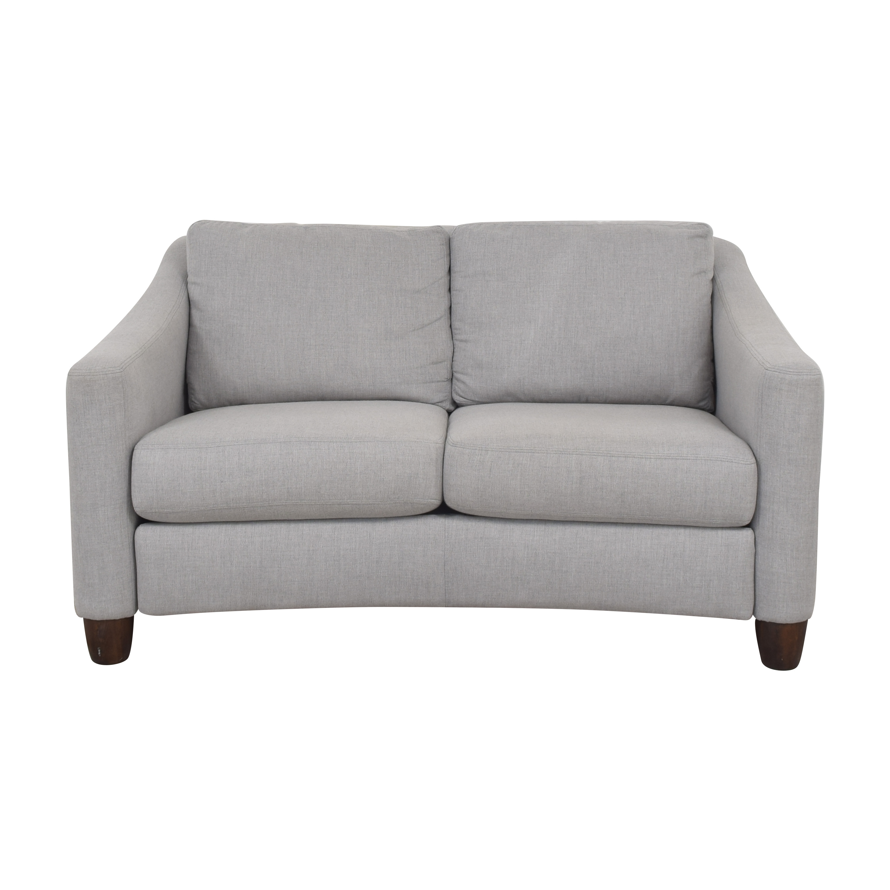 shop Flexsteel Modern Loveseat Flexsteel