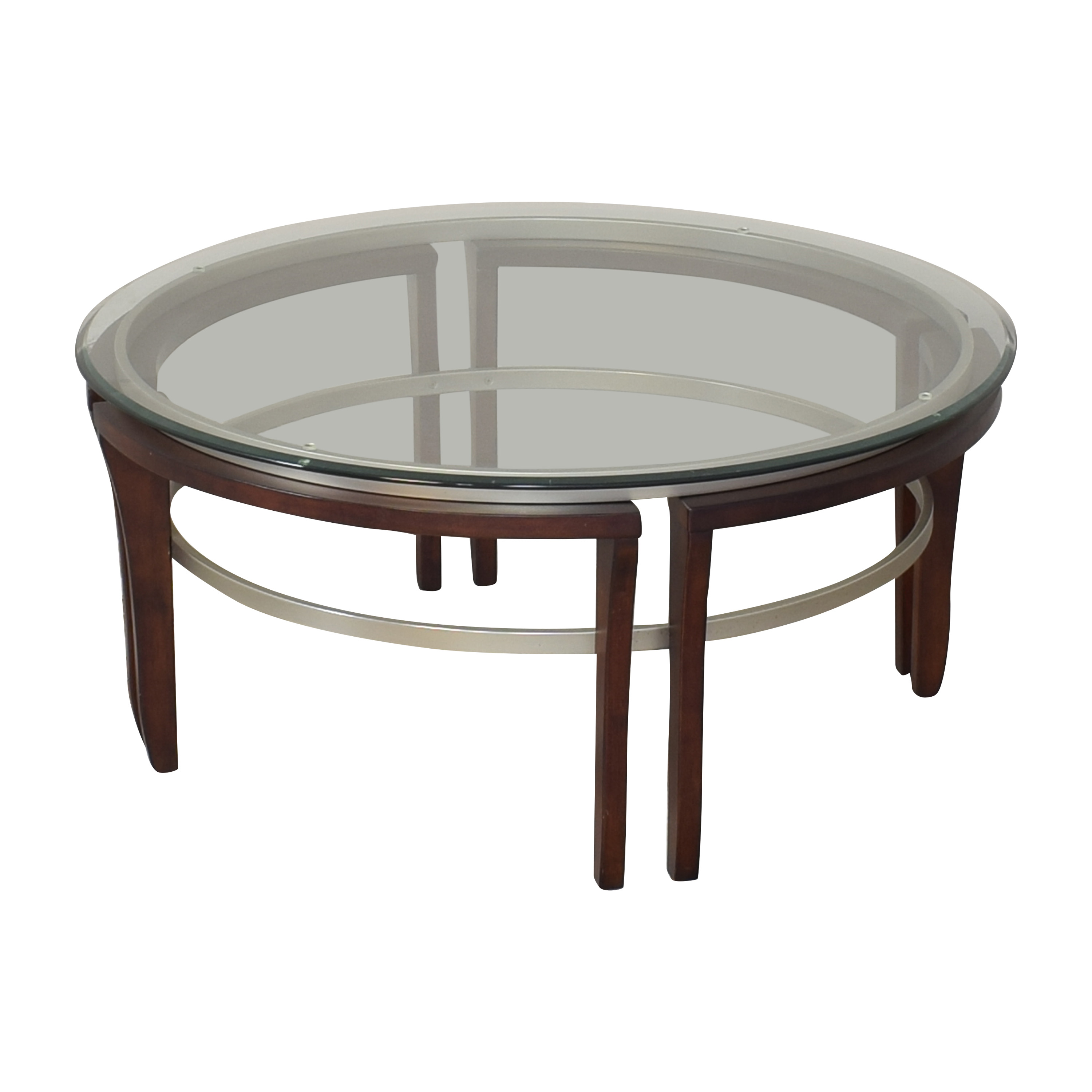 buy Macy's Fusion Round Coffee Table Macy's Coffee Tables