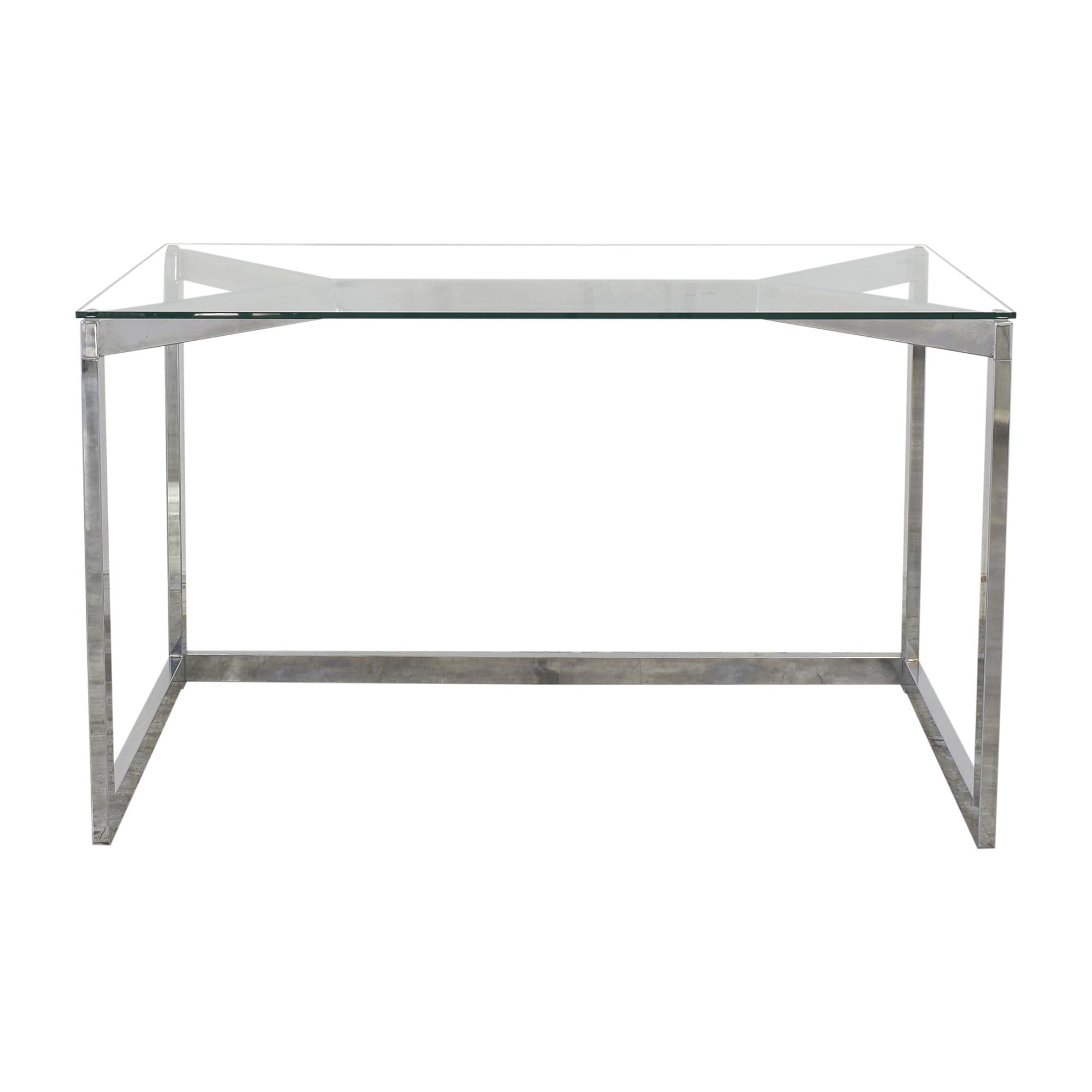 buy CB2 CB2 Tesso Transparent Desk online