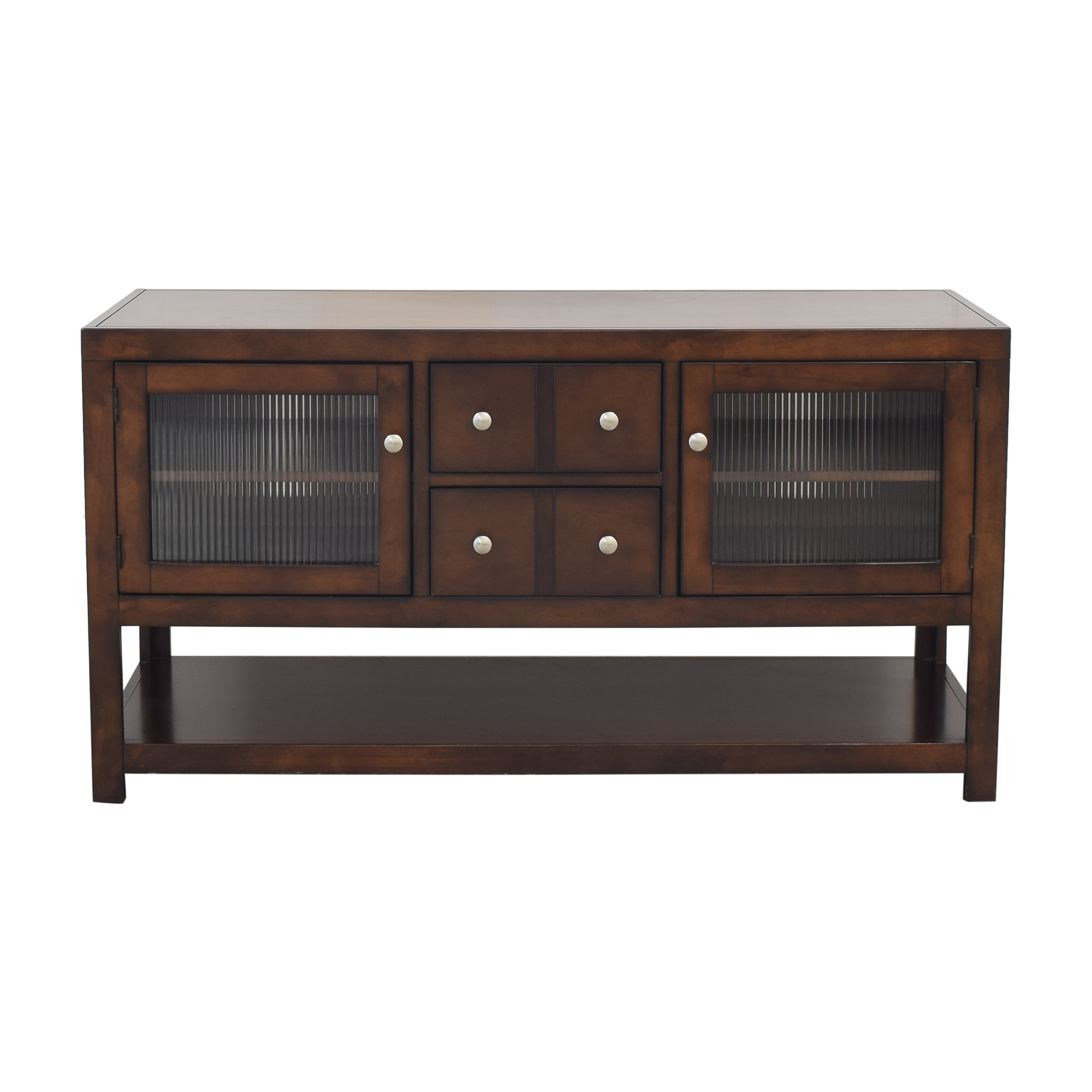 buy Raymour and Flanigan Media Console with Cabinets Raymour & Flanigan