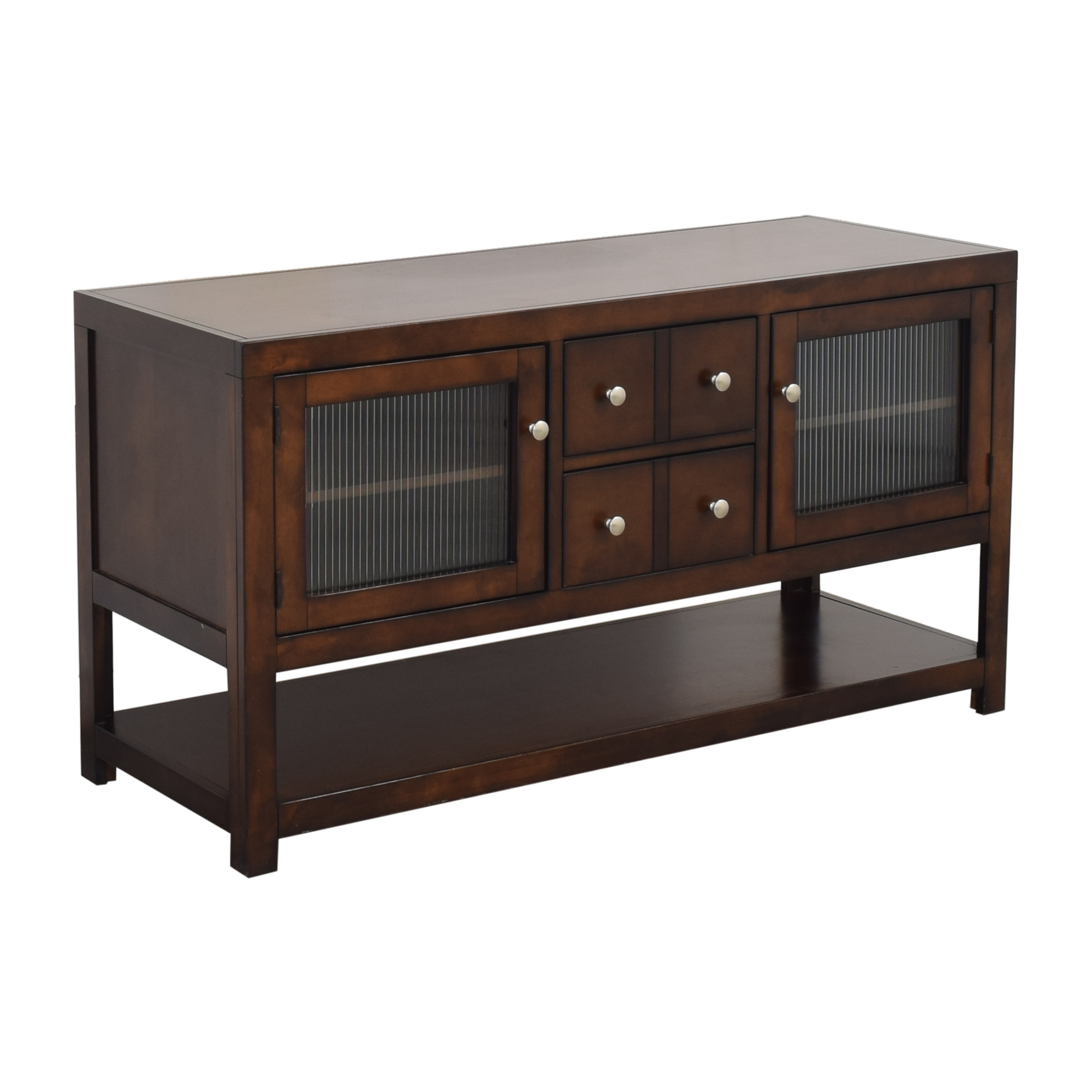 shop Raymour & Flanigan Raymour and Flanigan Media Console with Cabinets online