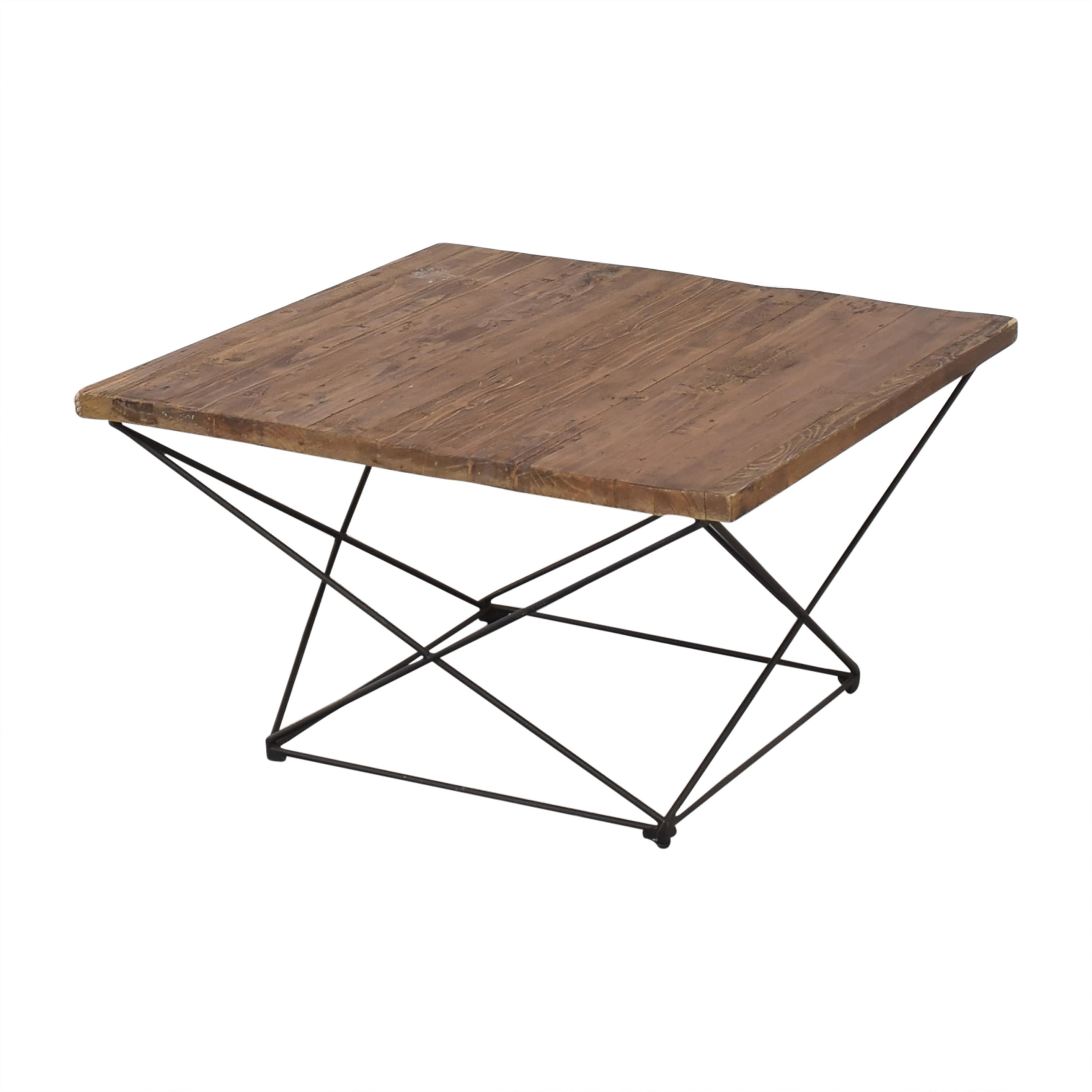 shop West Elm Angled Base Coffee Table West Elm Coffee Tables
