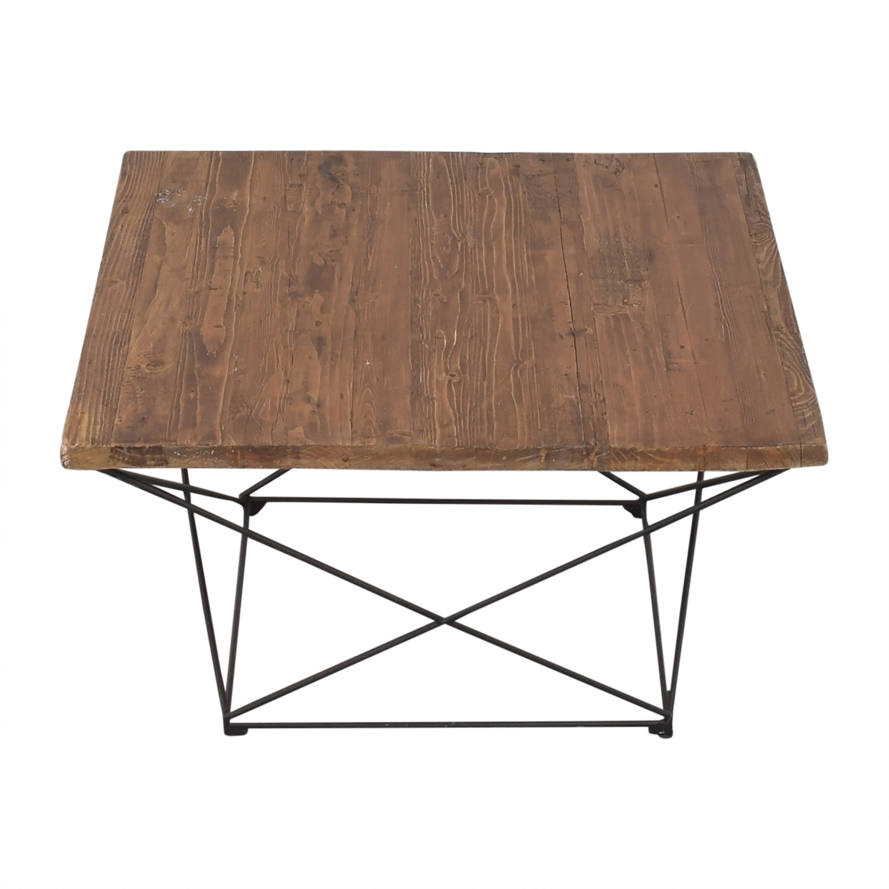 West Elm Angled Base Coffee Table West Elm