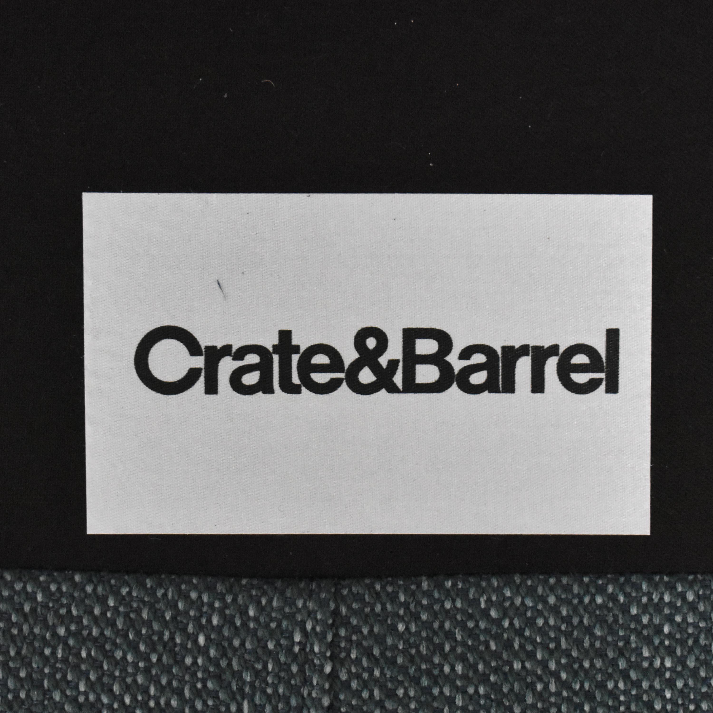 Crate & Barrel Gia Button Tufted Sofa Crate & Barrel
