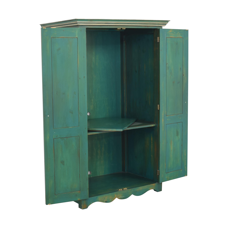 Tall Media Armoire Storage