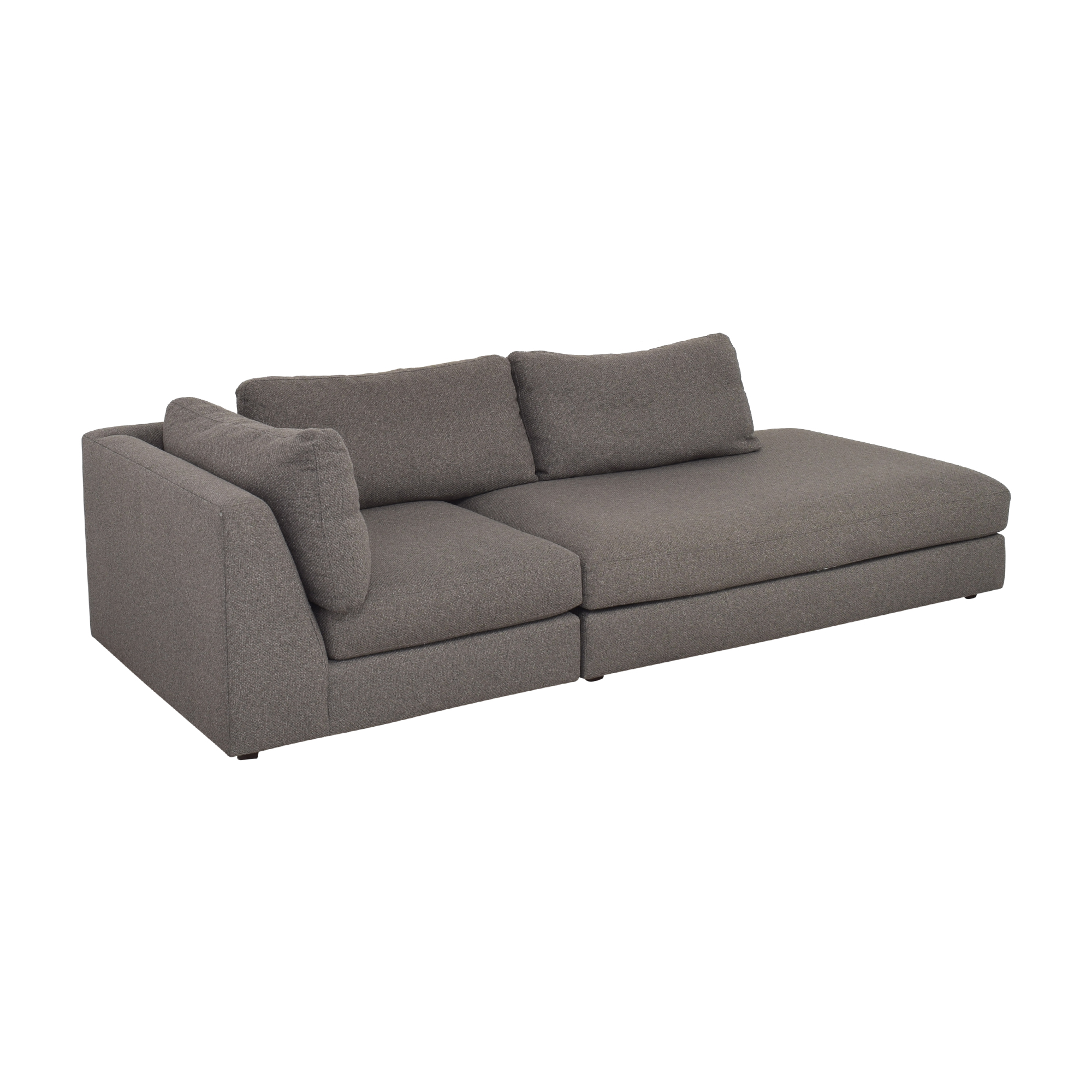 Crate & Barrel Crate & Barrel Two Piece Sectional Sofa nyc