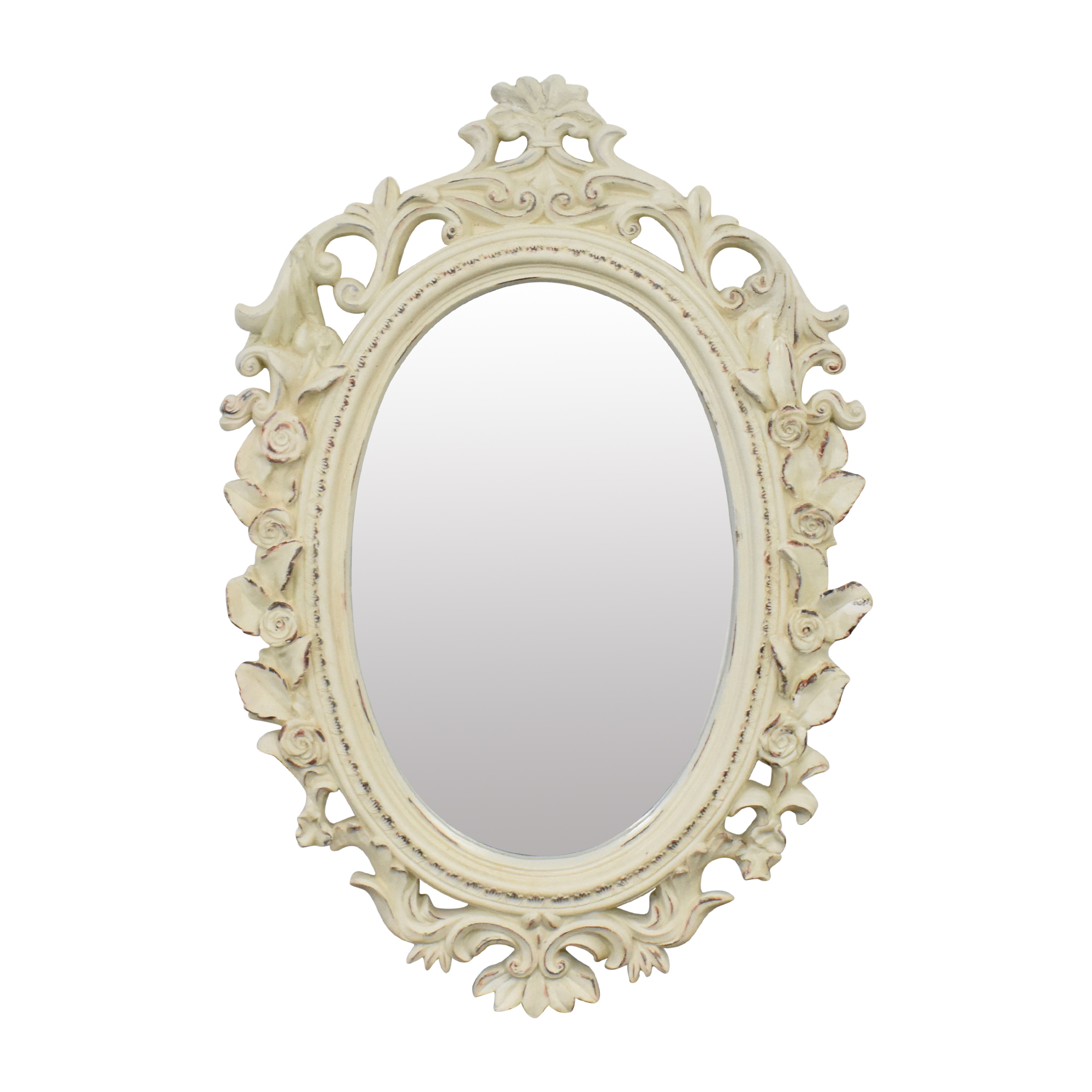 buy Framed Oval Mirror  Decor